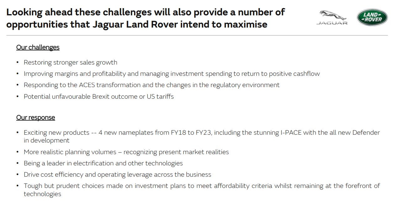Jaguar Land Rover future roadmap product plan 6