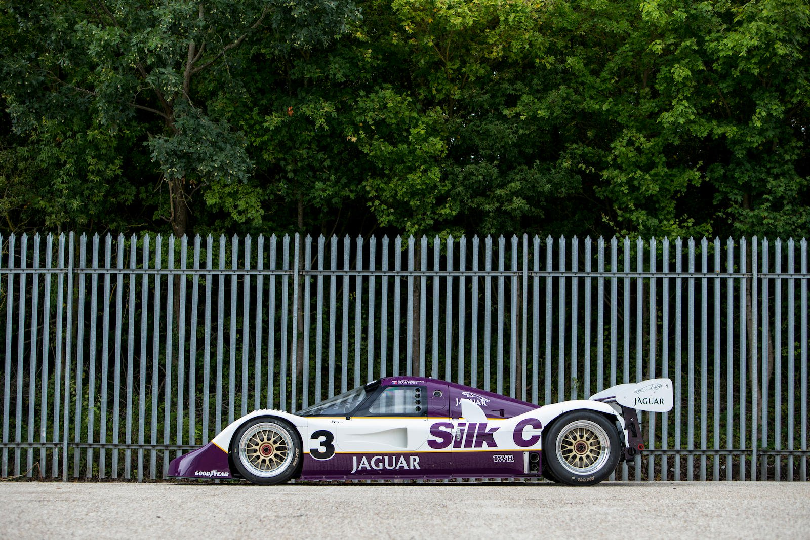 Jaguar XJR-11 in auction (3)