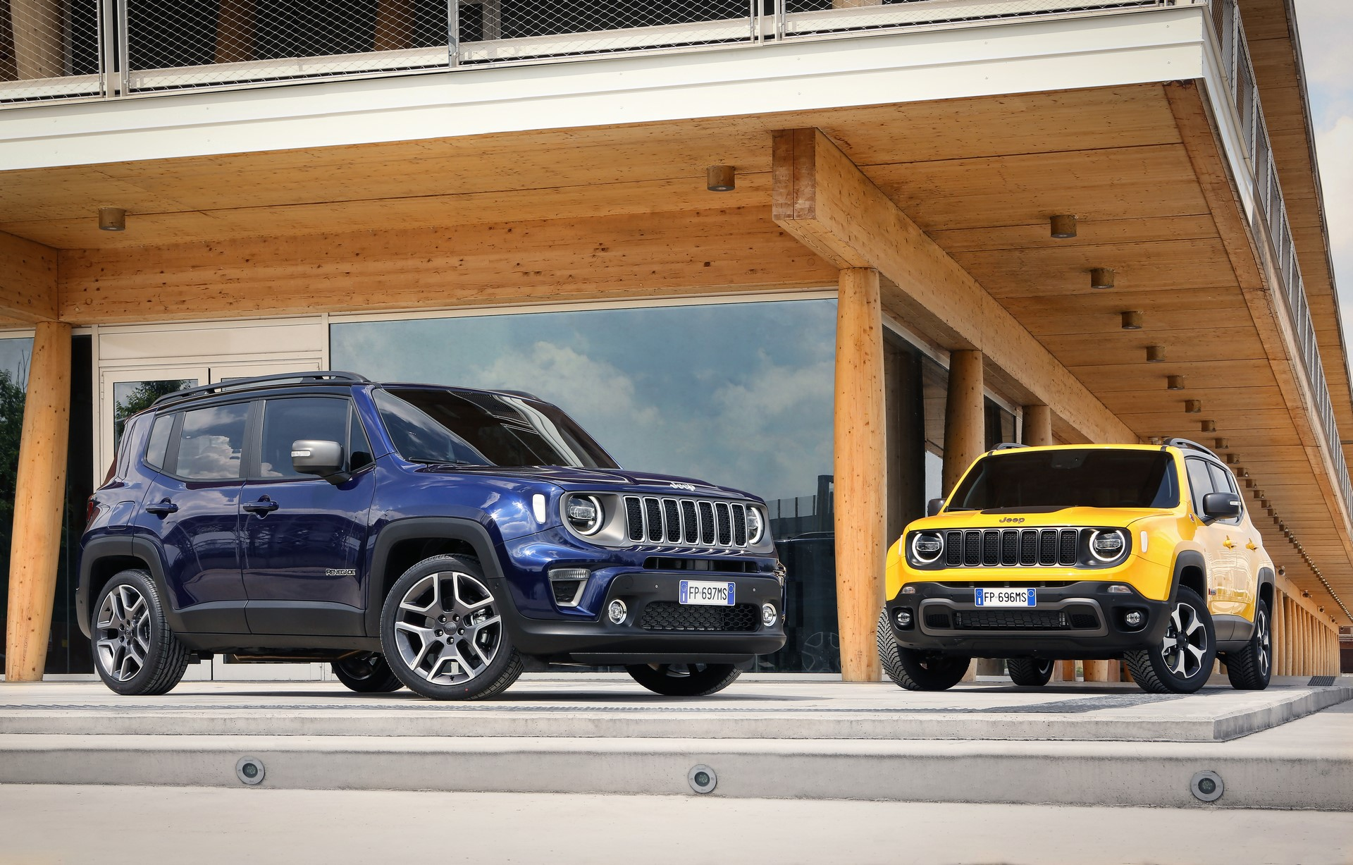 Jeep Renegade facelift 2019 (2)