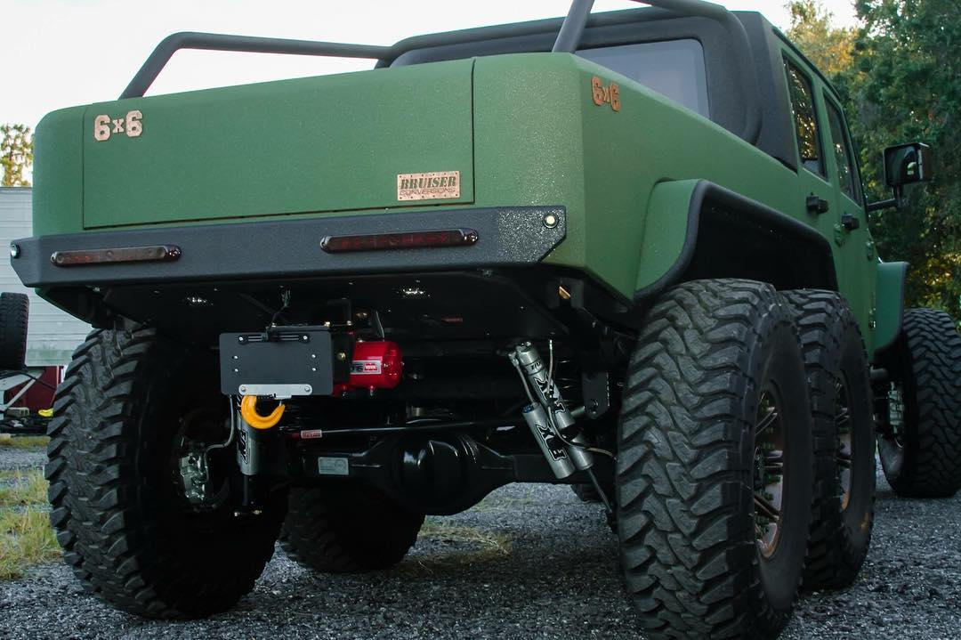 Jeep Wrangler 6x6 by Bruiser Conversions (10)