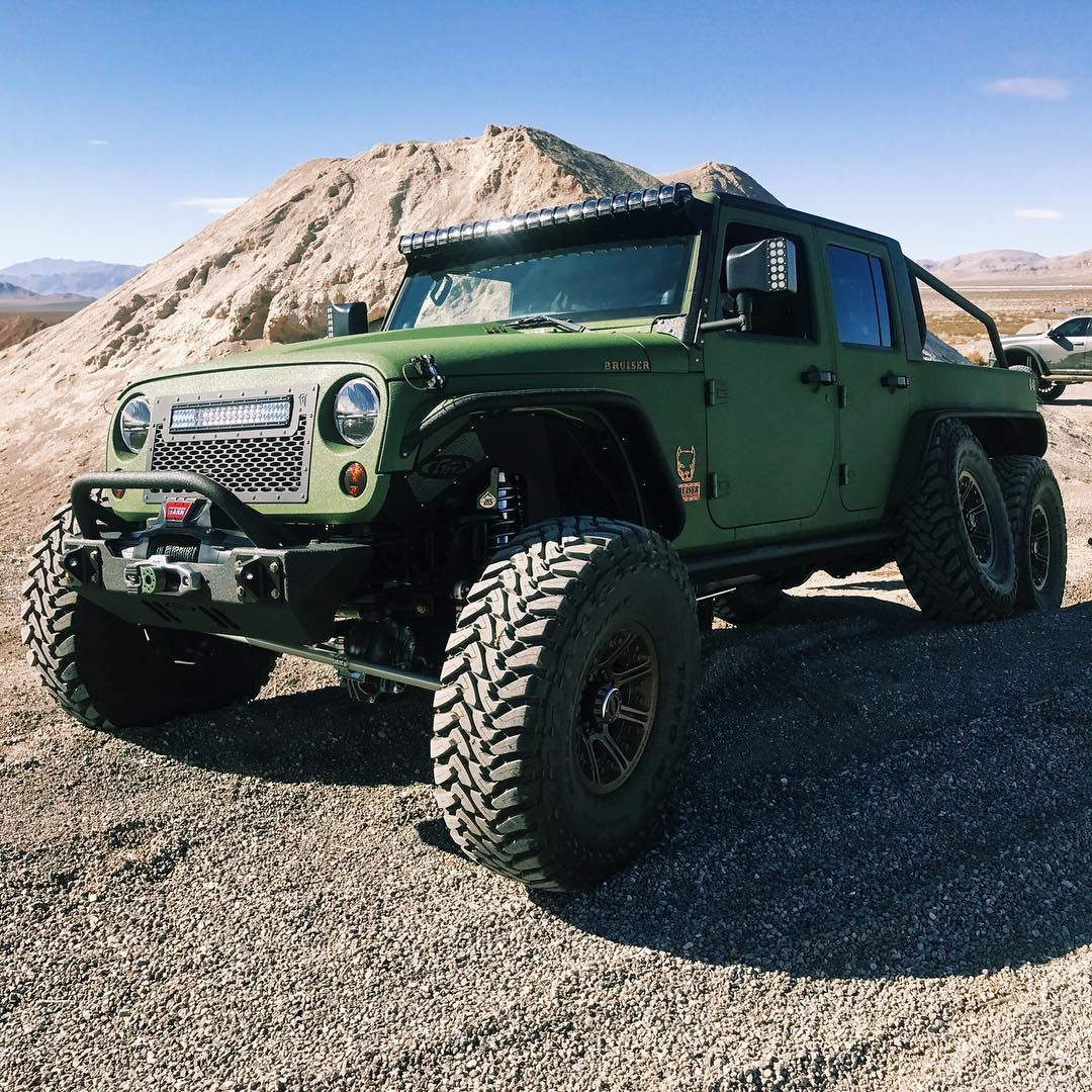 Jeep Wrangler 6x6 by Bruiser Conversions (11)