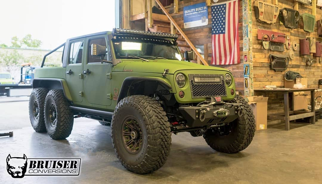 Jeep Wrangler 6x6 by Bruiser Conversions (16)