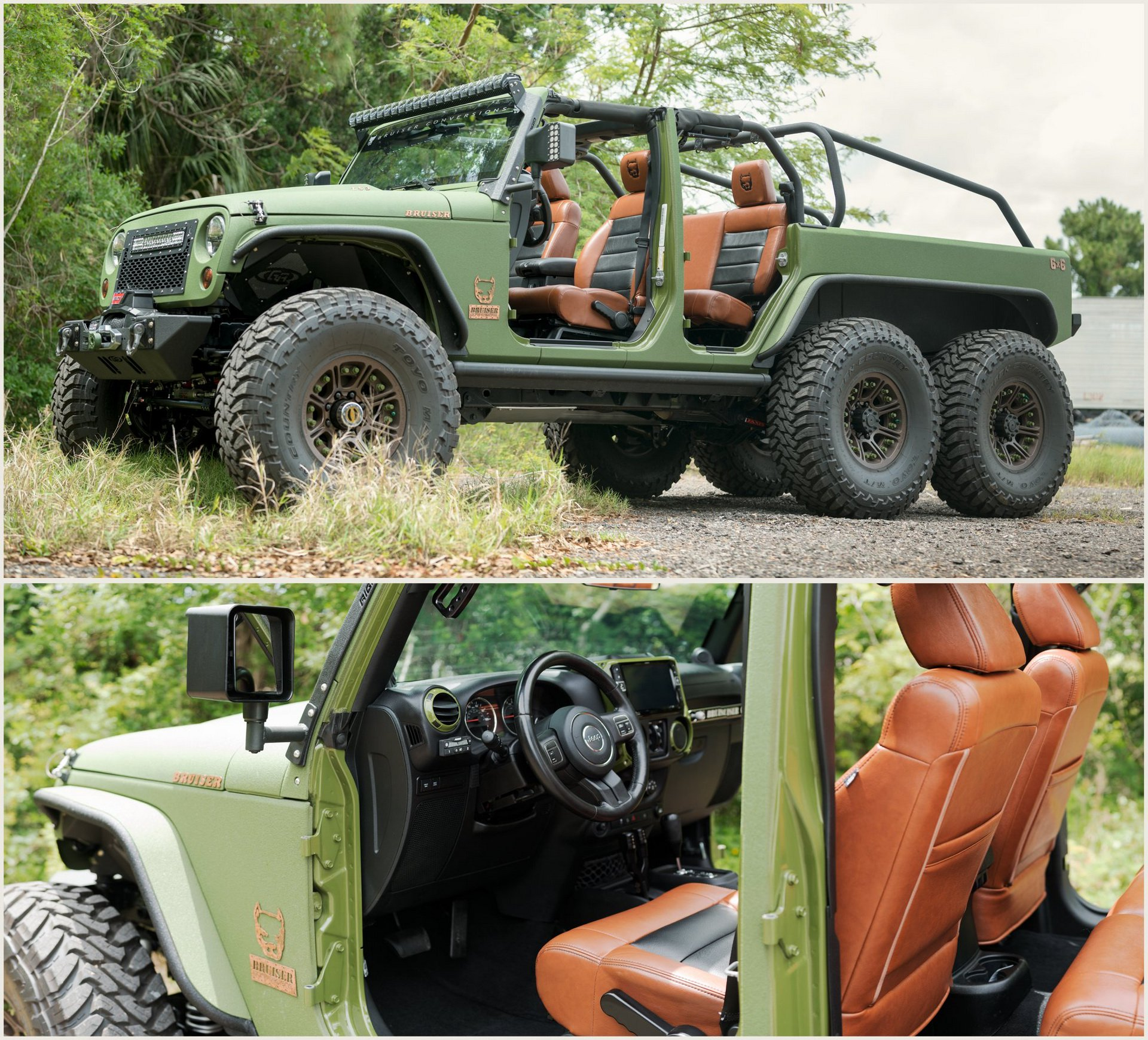 Jeep Wrangler 6x6 by Bruiser Conversions (19)