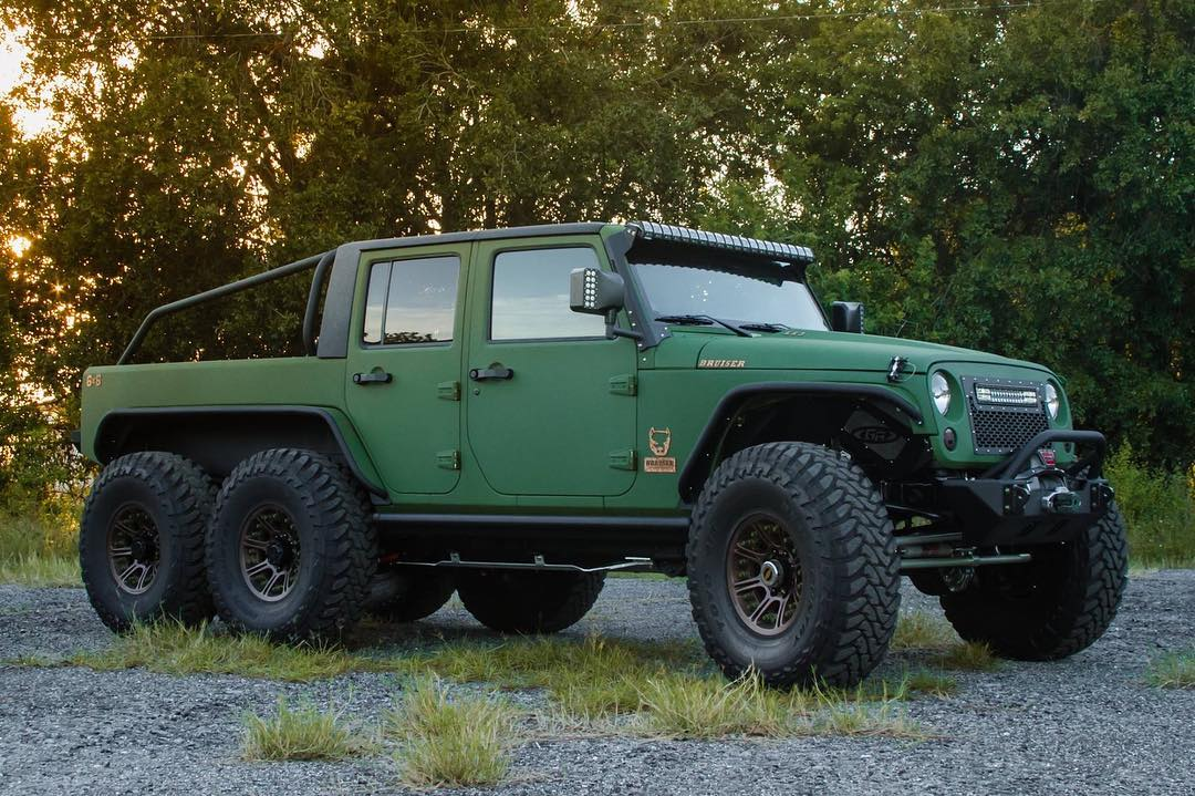 Jeep Wrangler 6x6 by Bruiser Conversions (5)