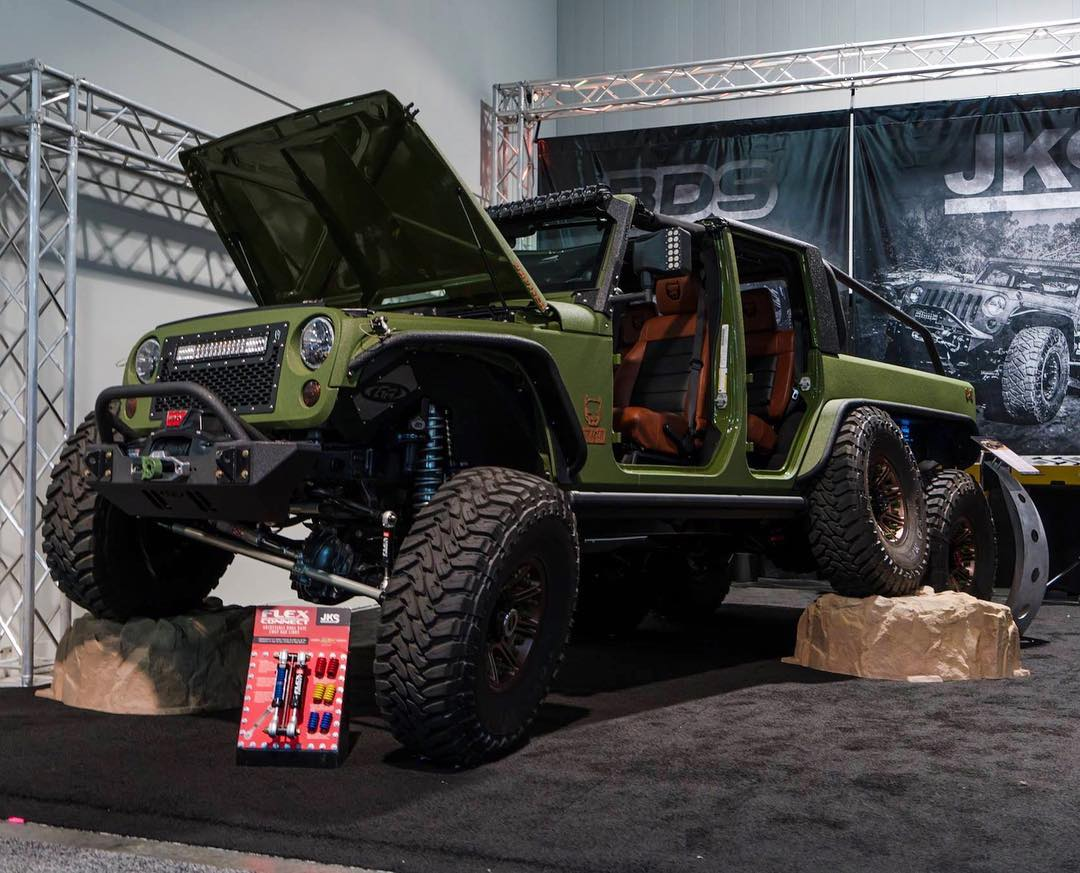 Jeep Wrangler 6x6 by Bruiser Conversions (6)