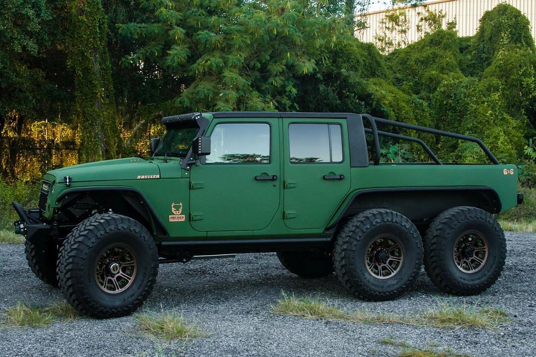 Jeep Wrangler 6x6 by Bruiser Conversions (8)