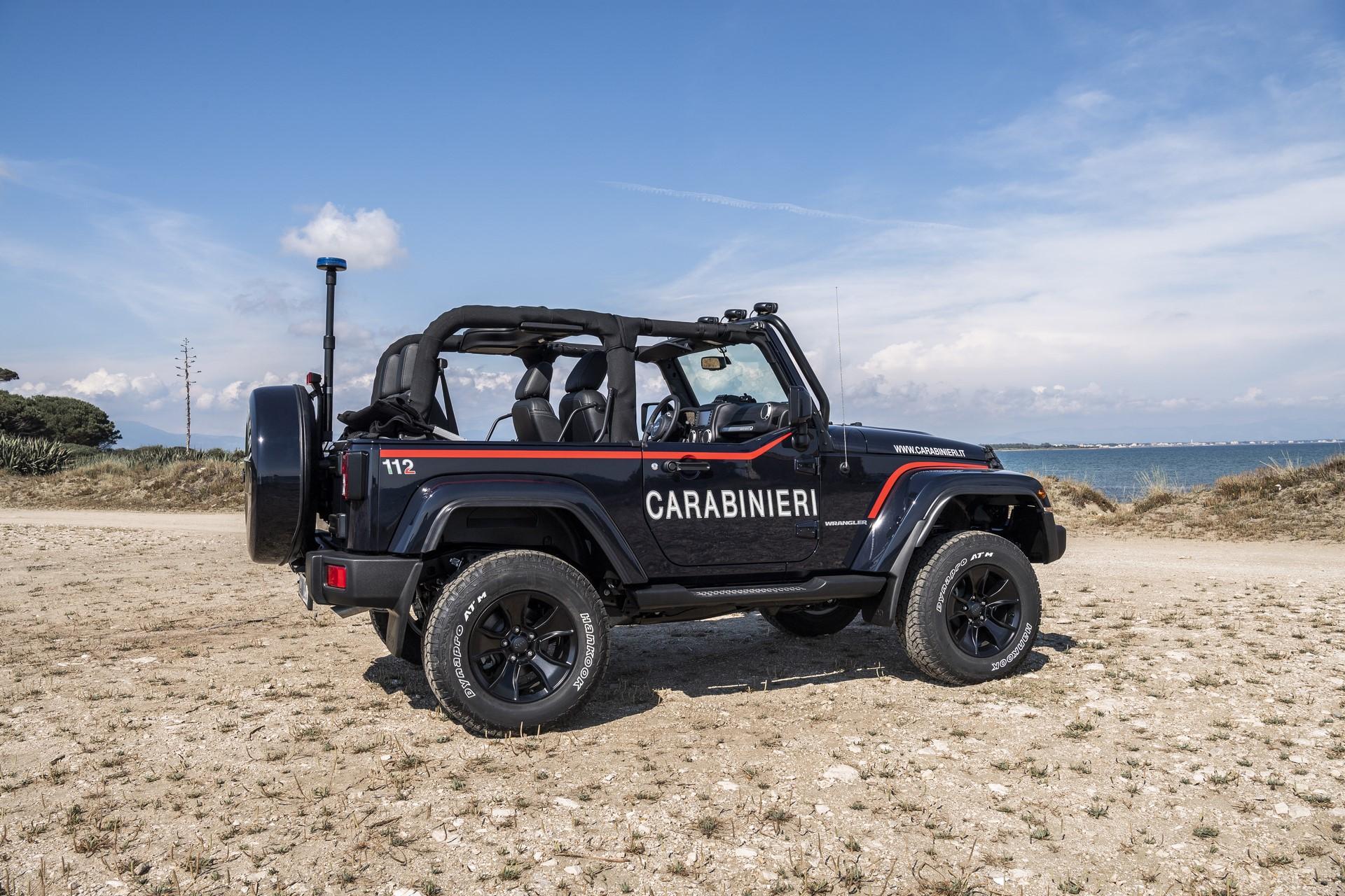 Jeep Wrangler Italian Police (10)