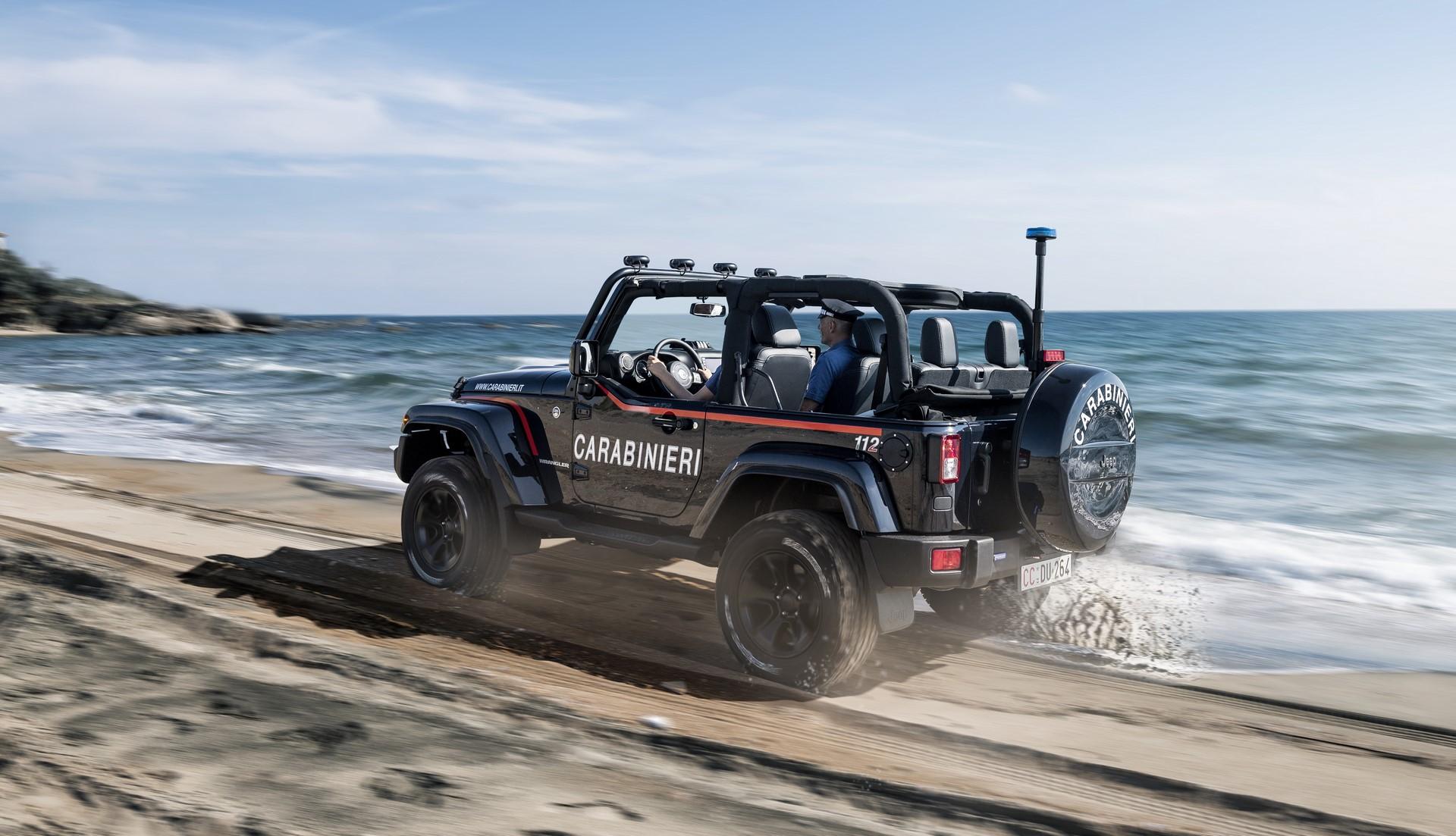 Jeep Wrangler Italian Police (12)