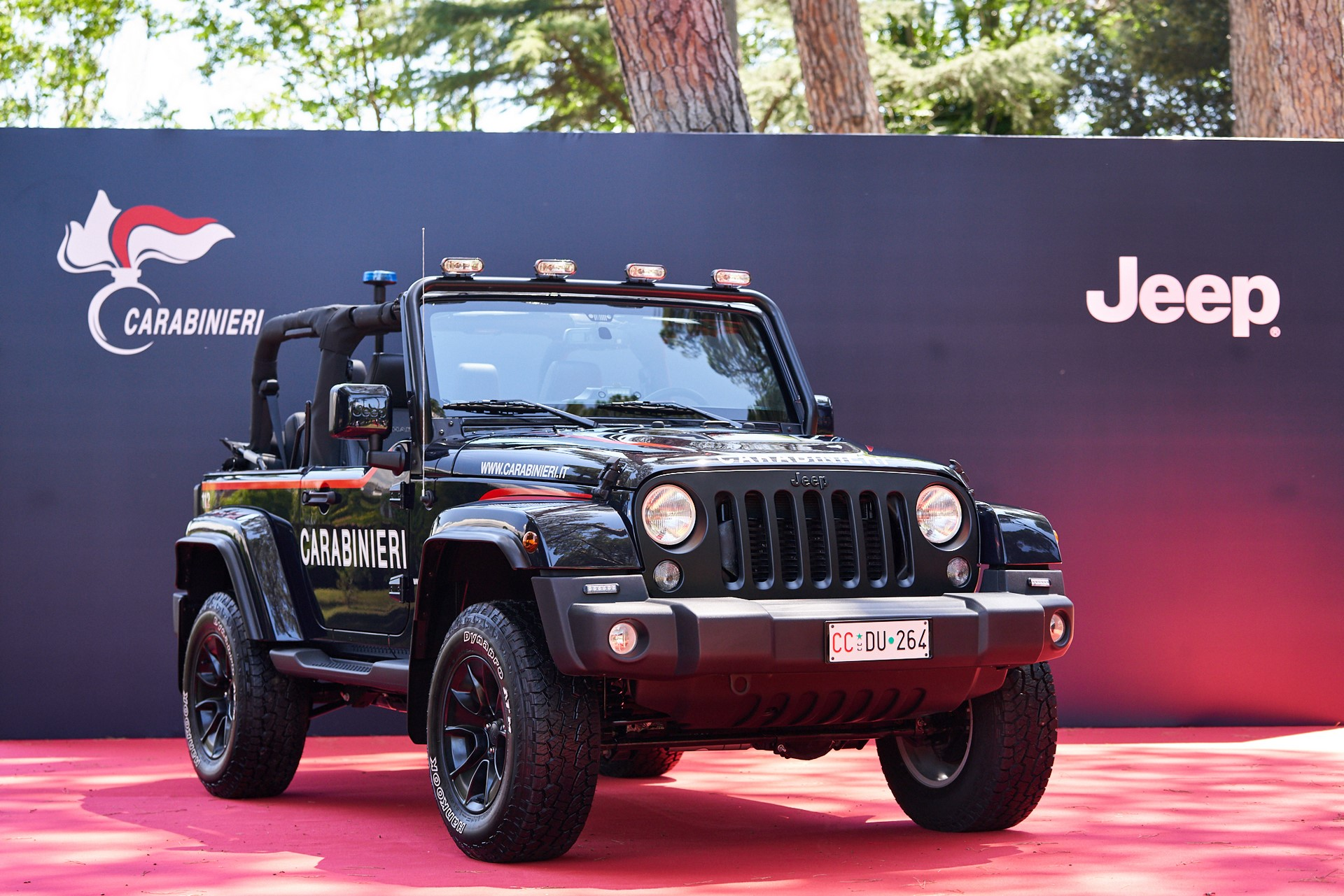 Jeep Wrangler Italian Police (4)