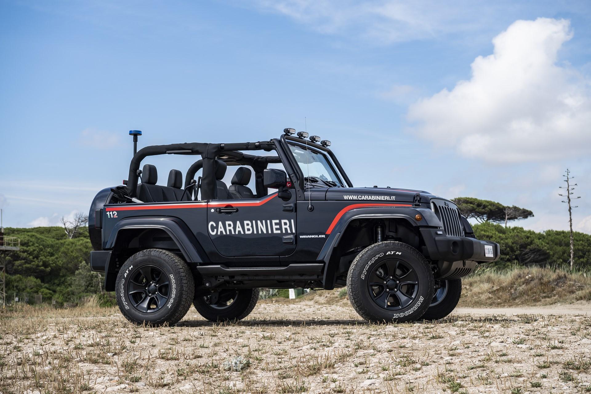 Jeep Wrangler Italian Police (7)