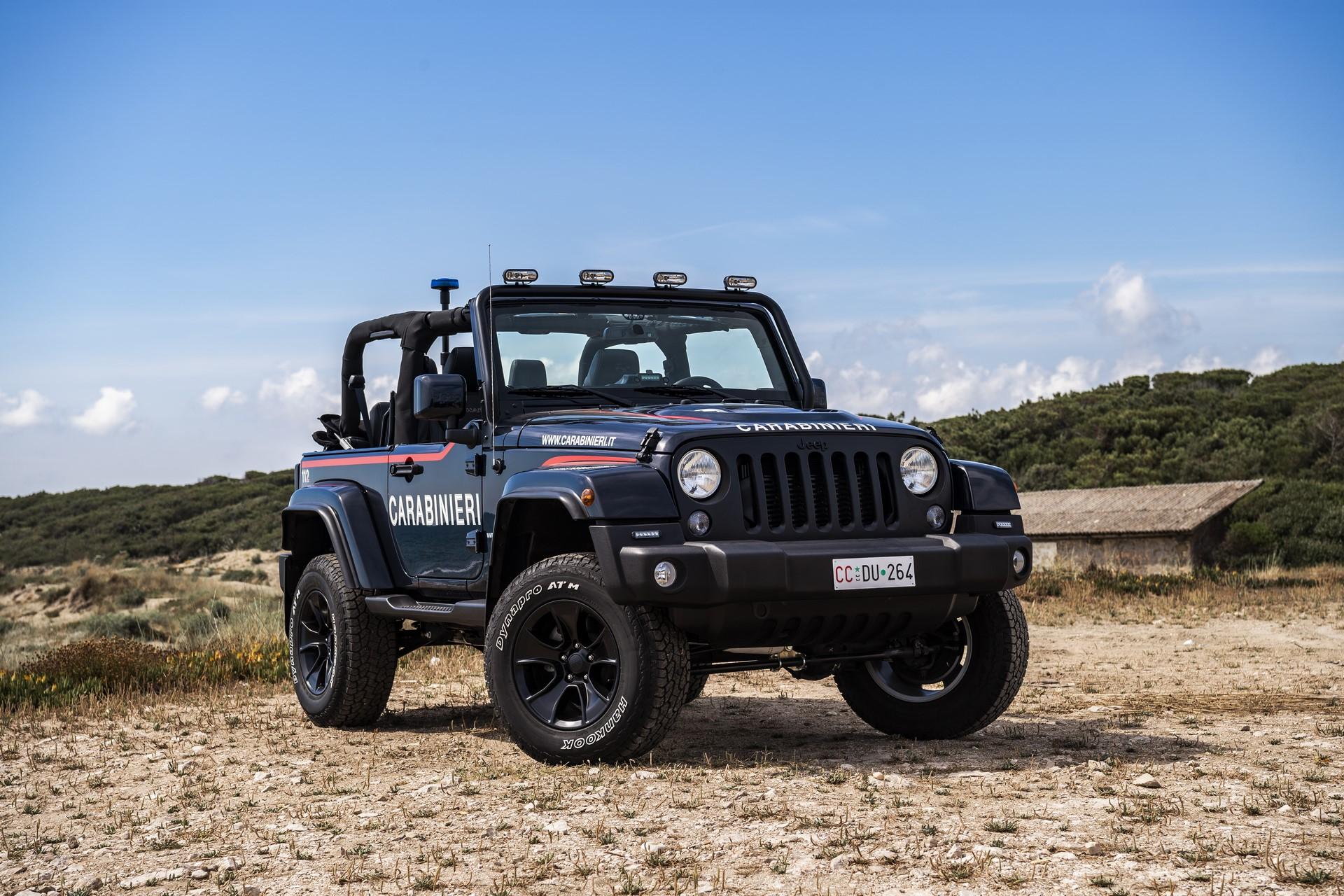 Jeep Wrangler Italian Police (8)
