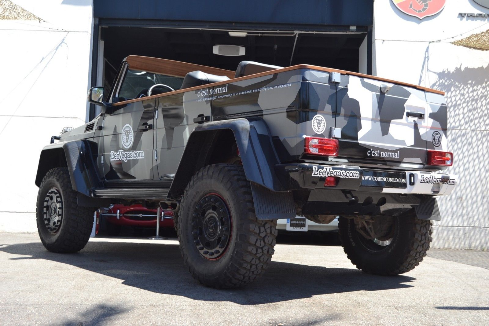 Jon Olsson G500 4x4 for sale 15