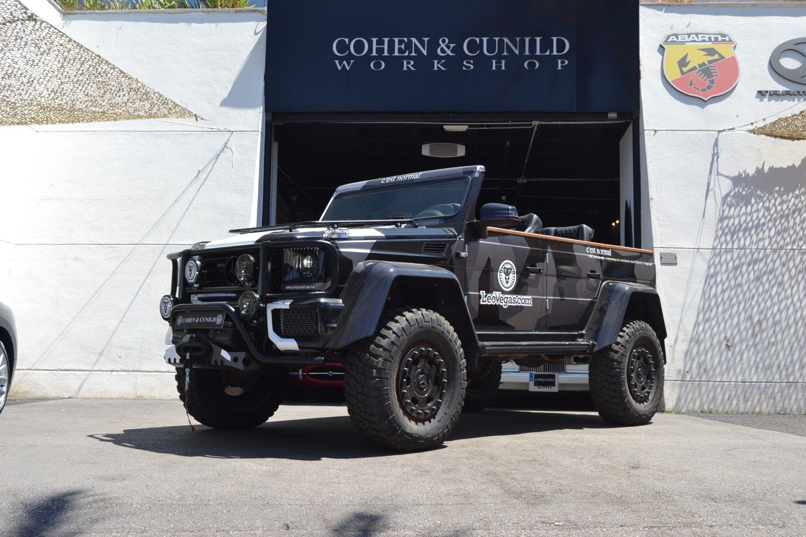 Jon Olsson G500 4x4 for sale 4