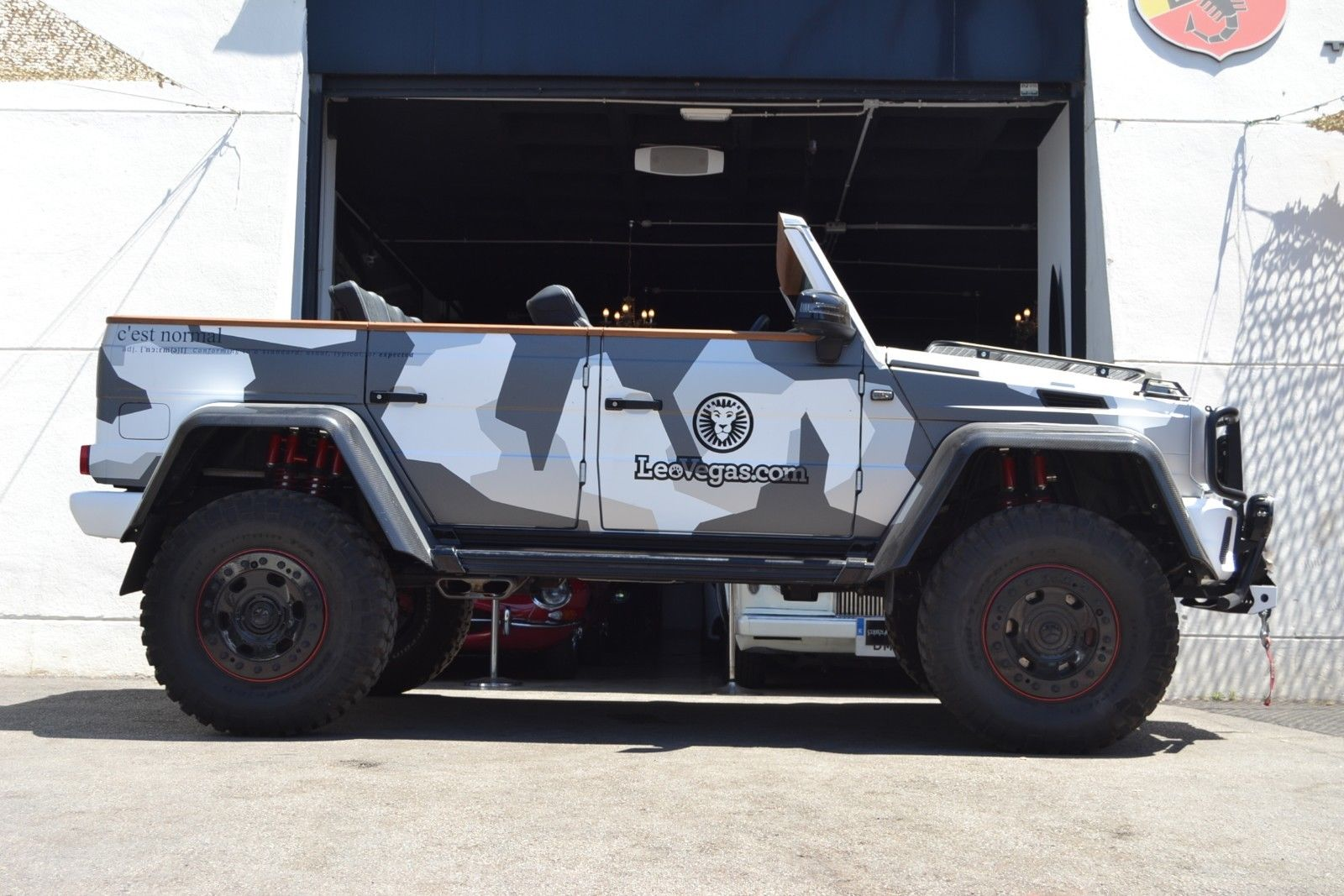 Jon Olsson G500 4x4 for sale 5