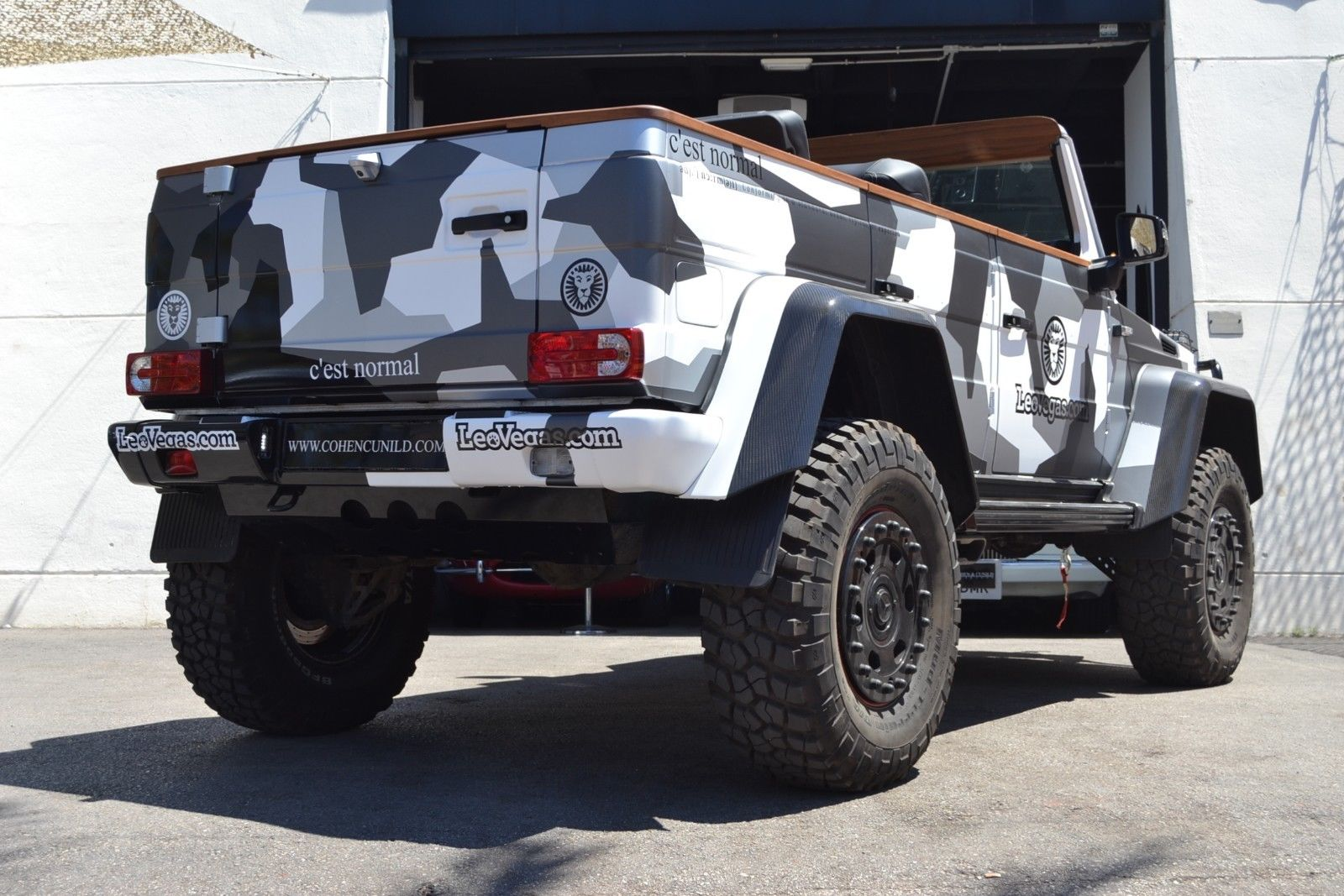 Jon Olsson G500 4x4 for sale 6