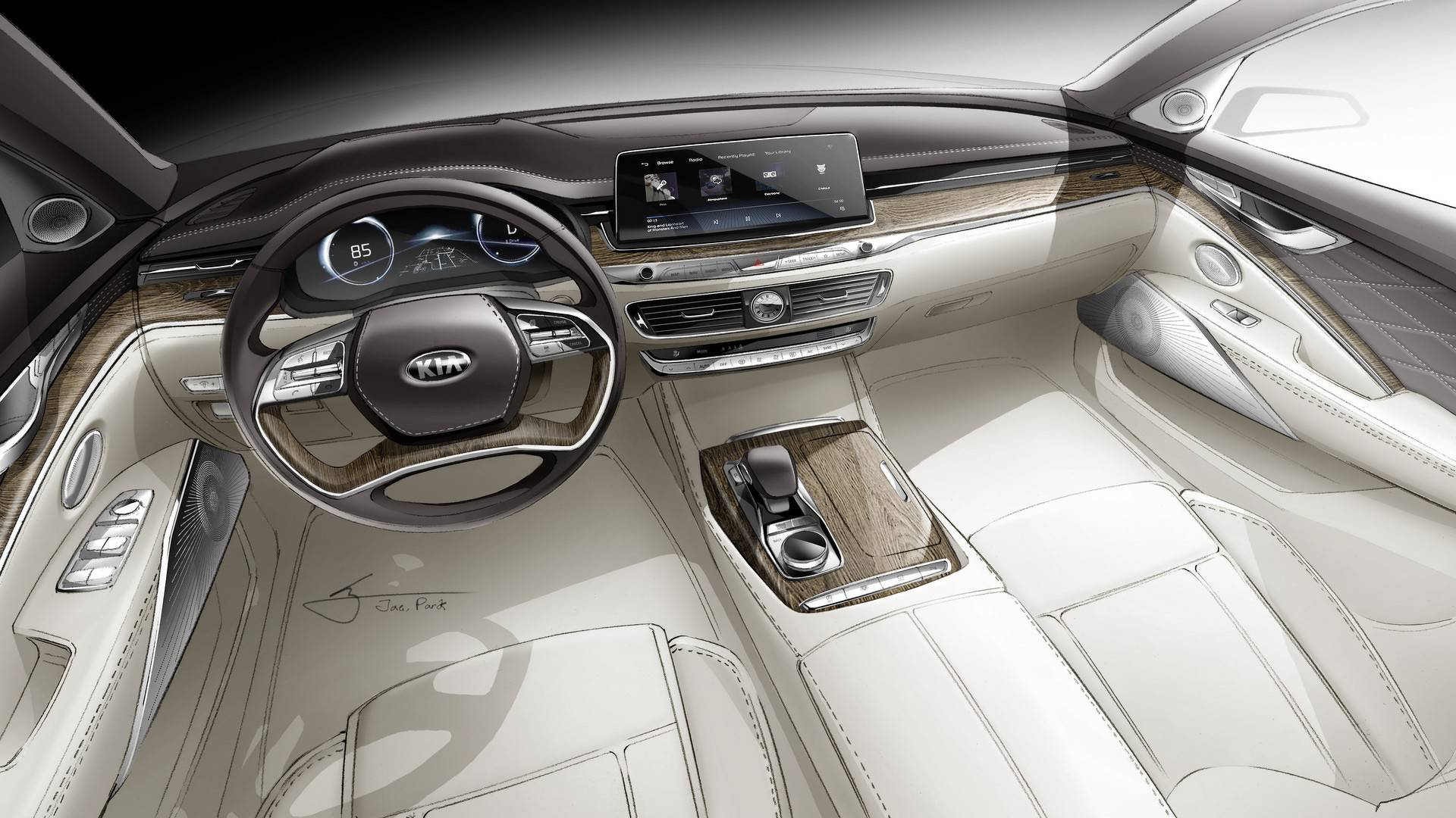 Kia K900 2018 photos (5)
