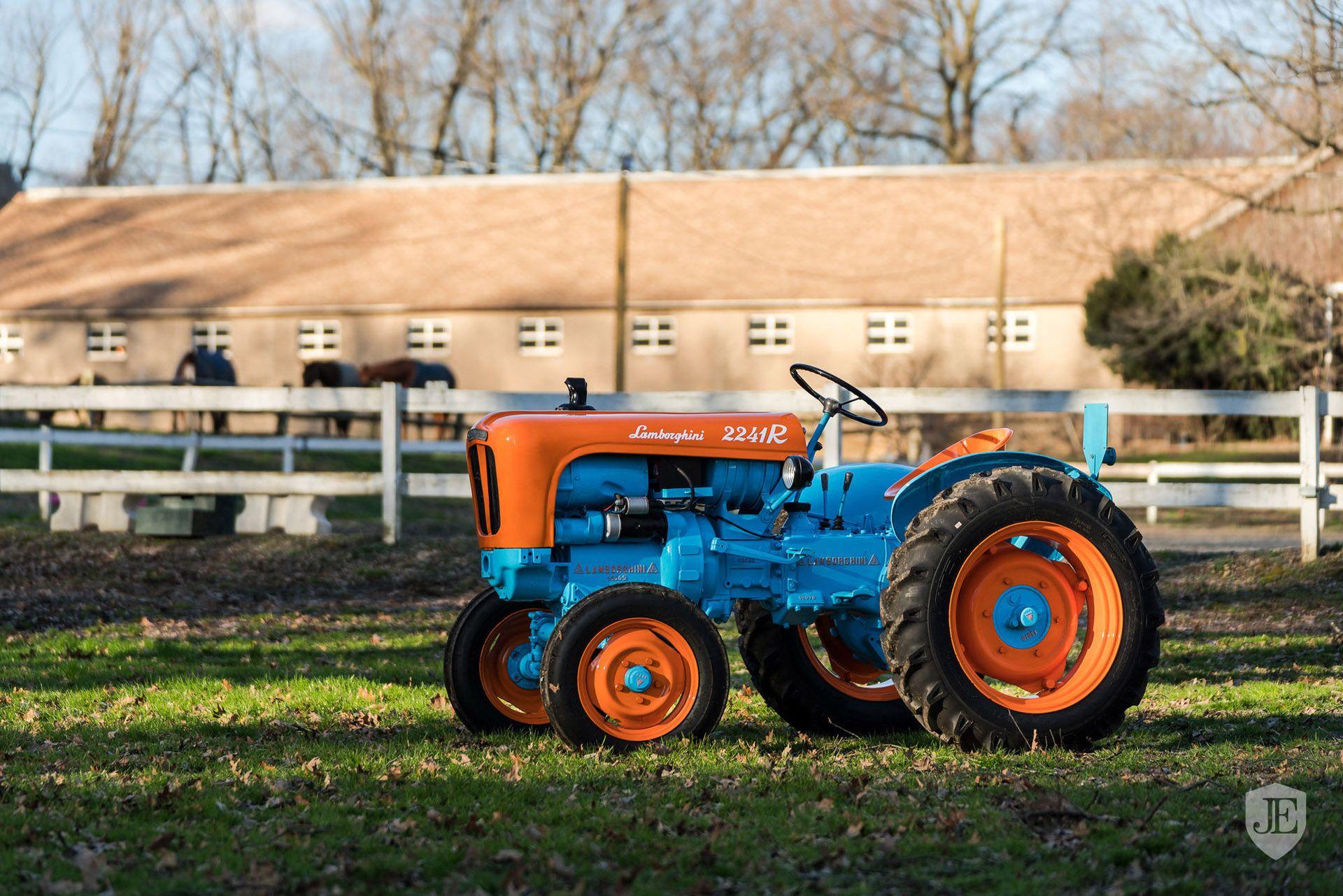 Lamborghini 2241R tractor 1960 (1)