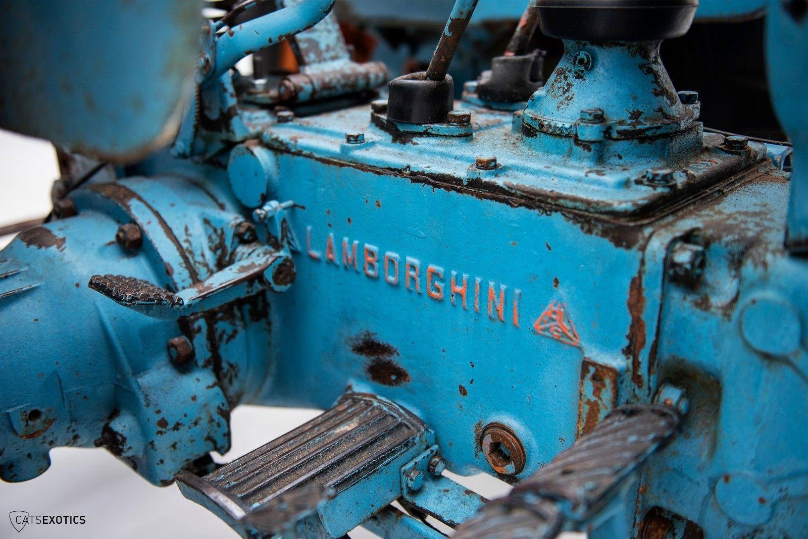 Lamborghini 2R tractor 1964 barnfind for sale (12)