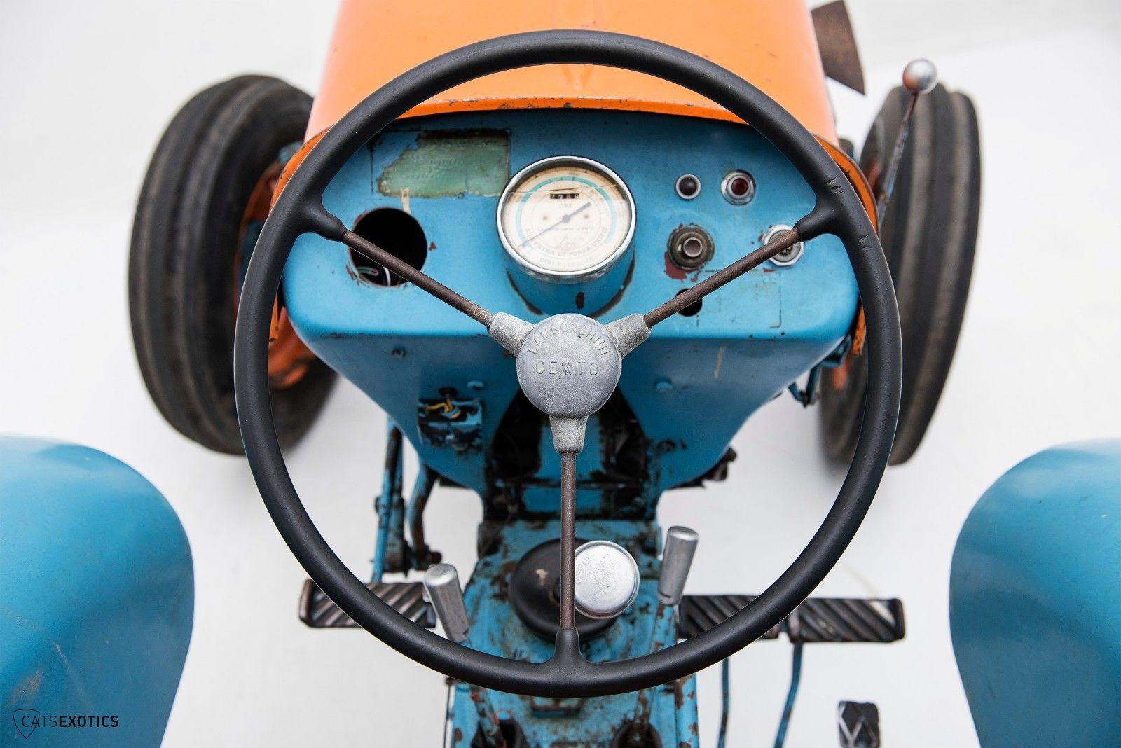 Lamborghini 2R tractor 1964 barnfind for sale (16)