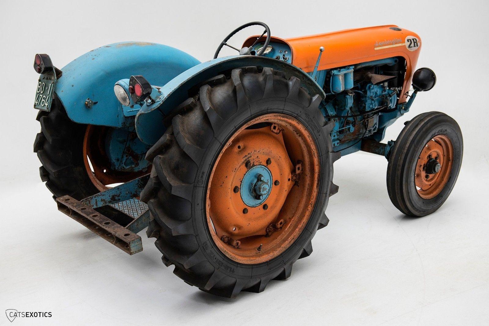 Lamborghini 2R tractor 1964 barnfind for sale (4)