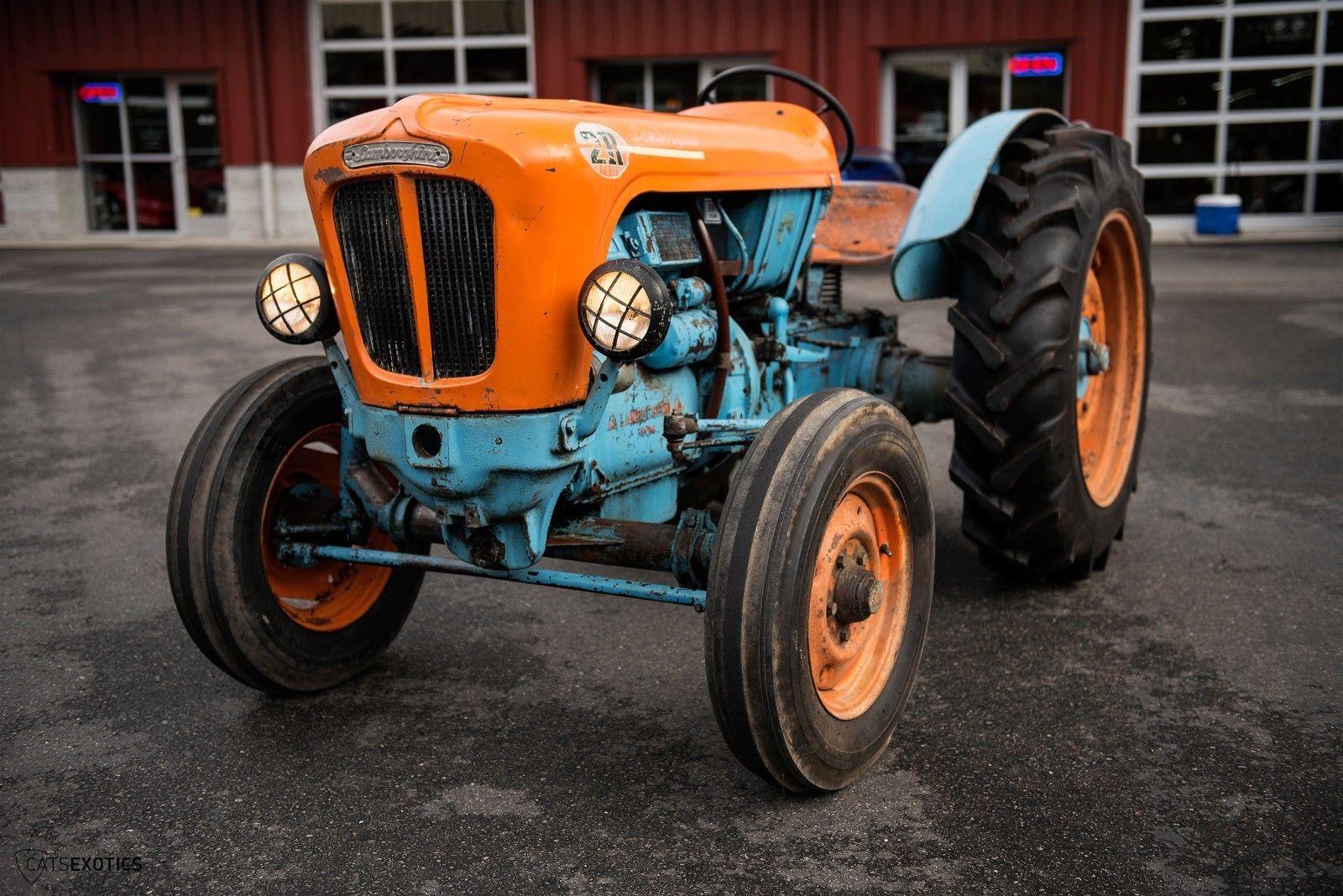 Lamborghini 2R tractor 1964 barnfind for sale (5)