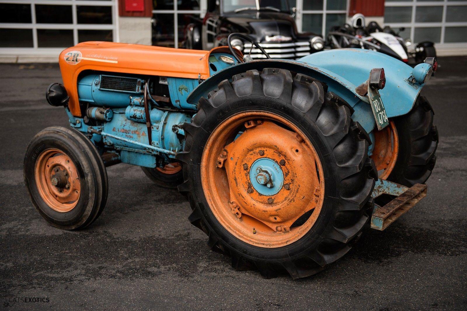 Lamborghini 2R tractor 1964 barnfind for sale (7)