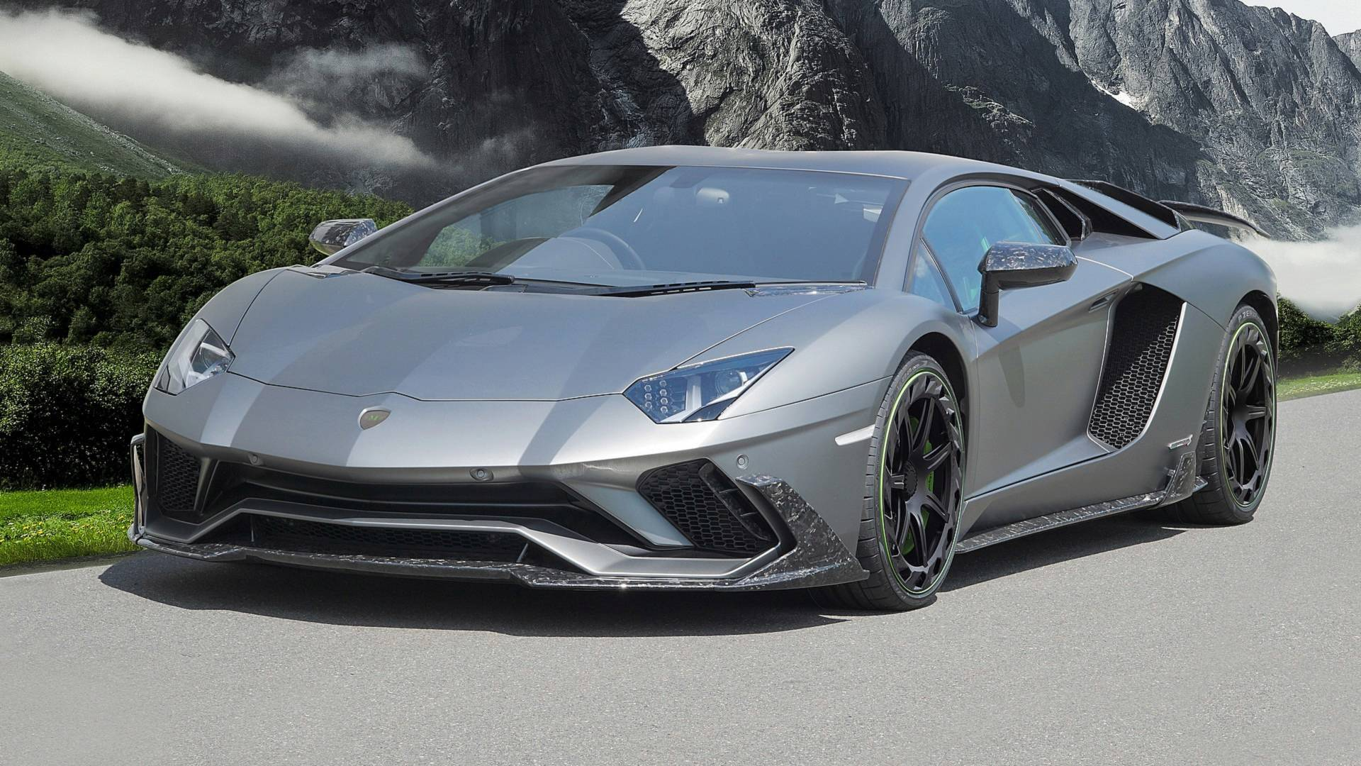 Lamborghini Aventador S by Mansory (2)