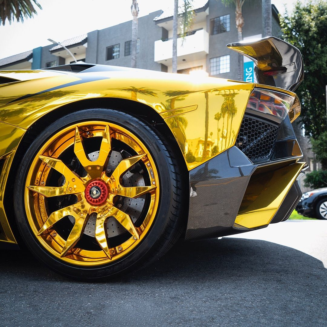 Lamborghini Aventador SV Roadster Chris Brown (4)