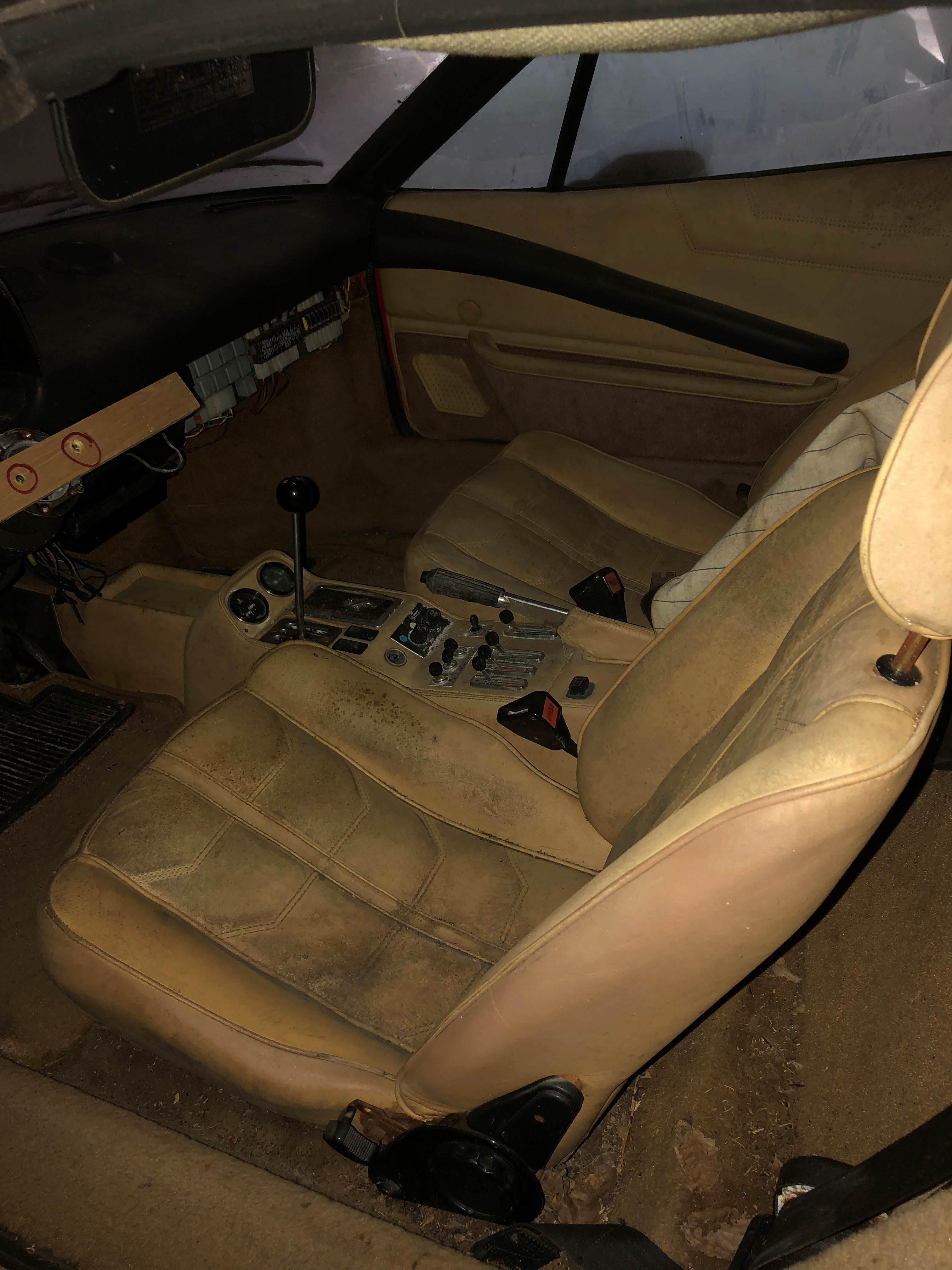 Lamborghini Countach and Ferrari 308 barnfind 6