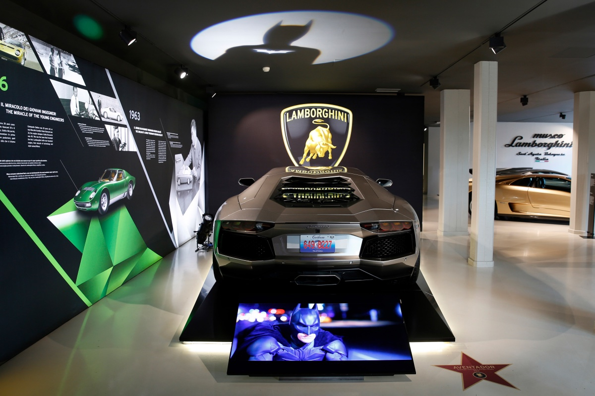 Lamborghini Hollywood Walk Of Fame (52)