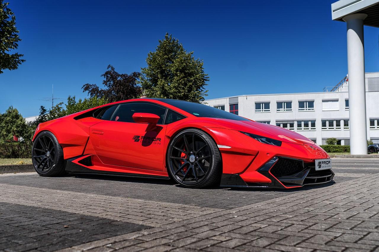 Lamborghini Huracan bodykit by Prior Design (2)