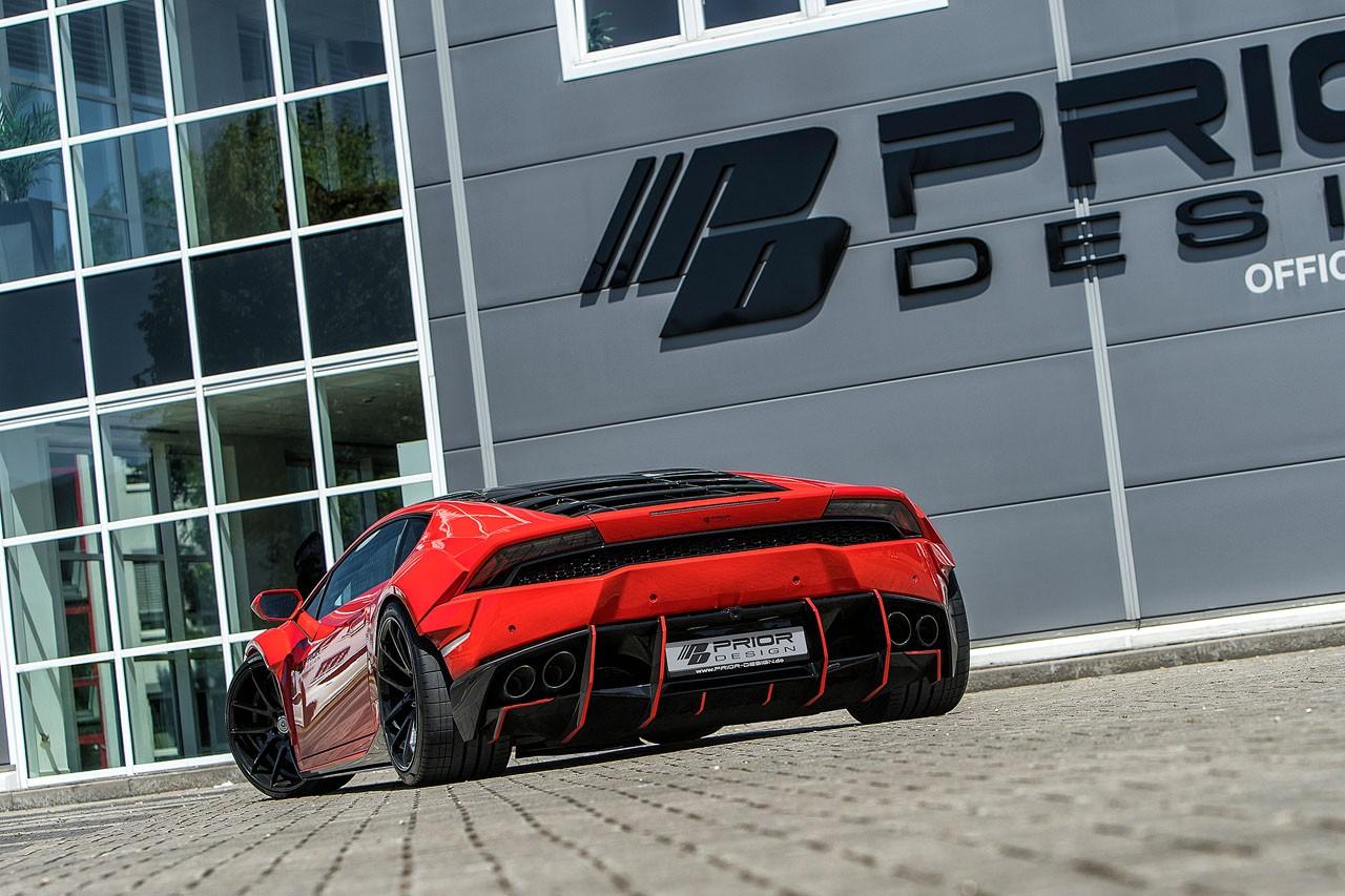 Lamborghini Huracan bodykit by Prior Design (3)