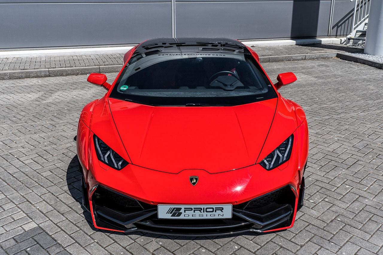 Lamborghini Huracan bodykit by Prior Design (4)