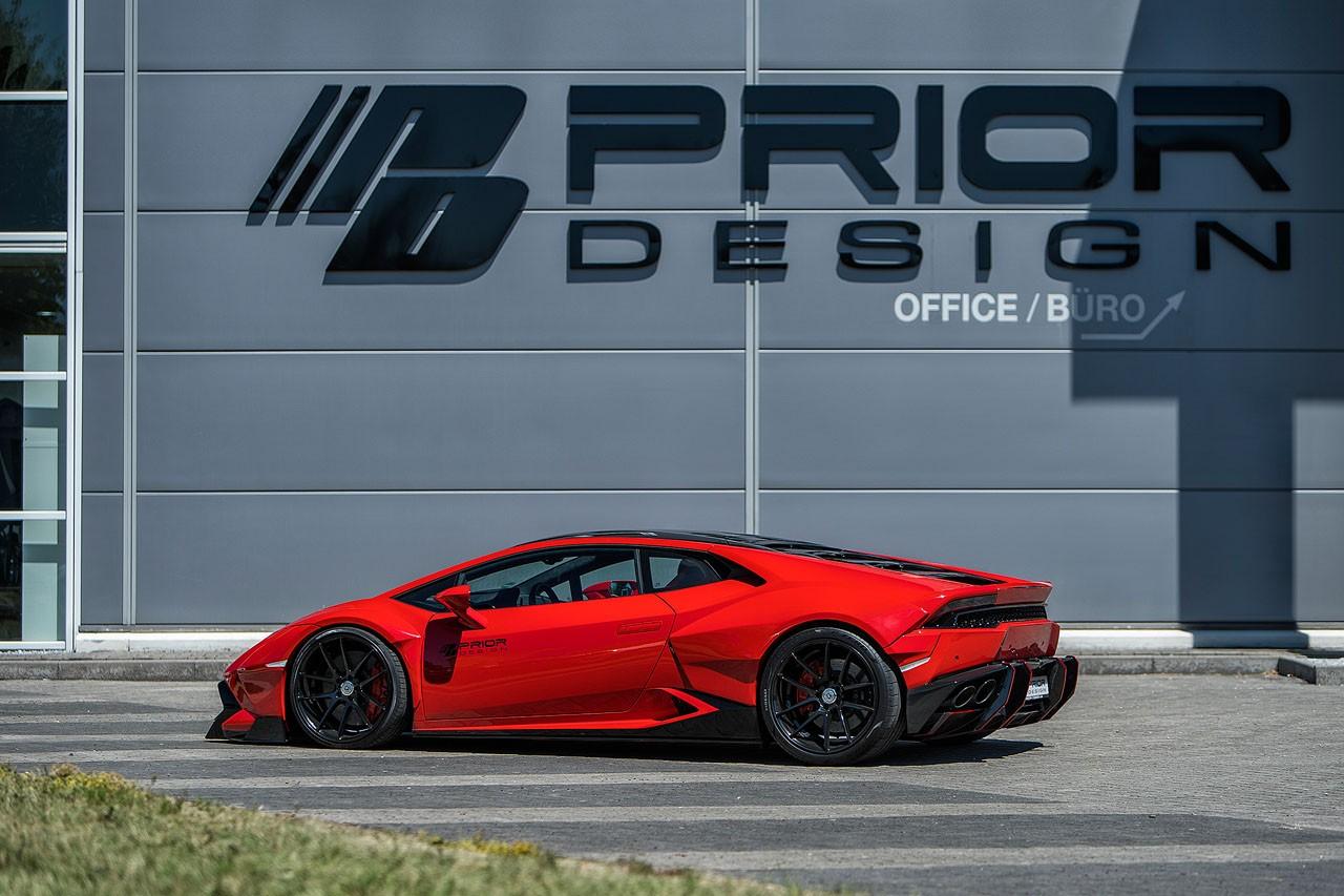 Lamborghini Huracan bodykit by Prior Design (5)