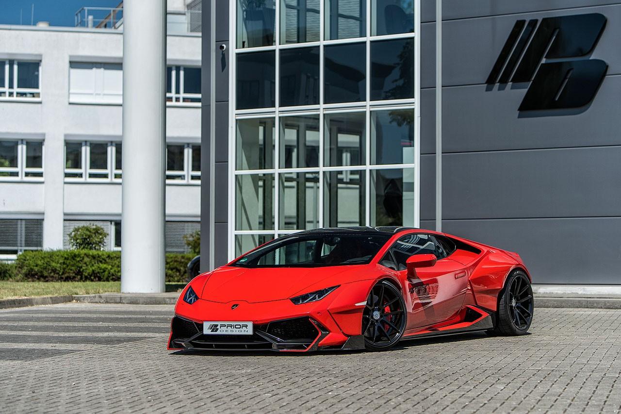 Lamborghini Huracan bodykit by Prior Design (7)