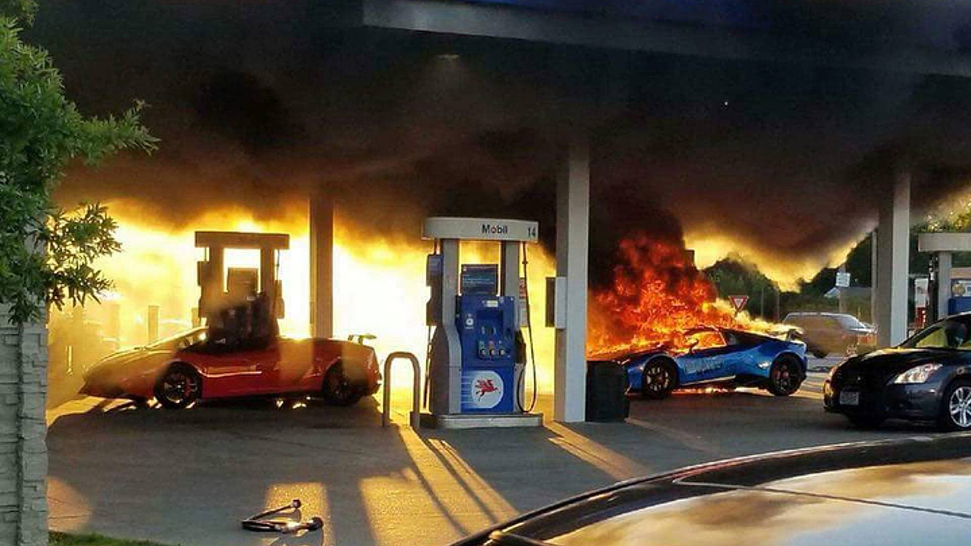 Lamborghini Huracan burned (2)