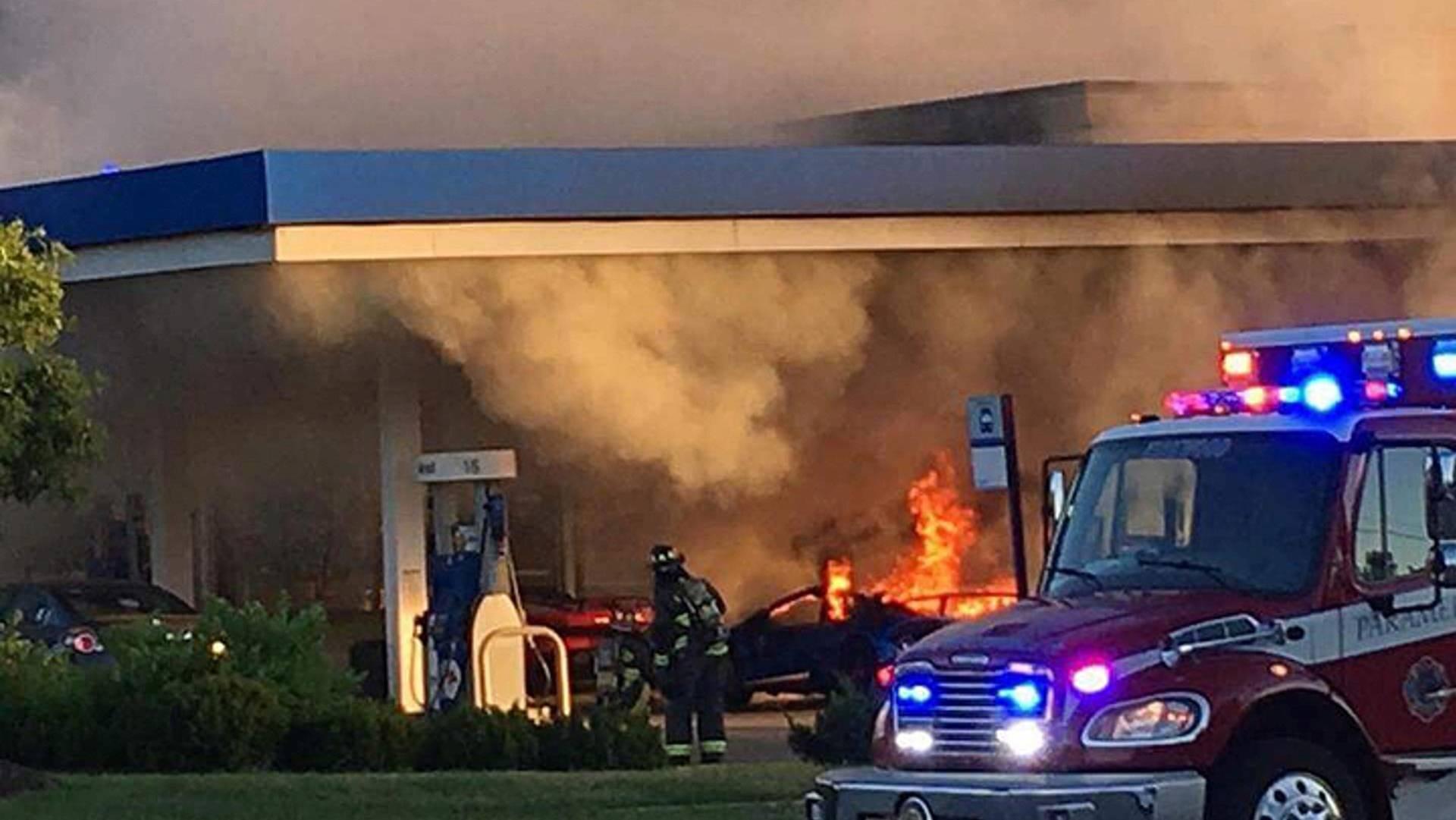 Lamborghini Huracan burned (3)
