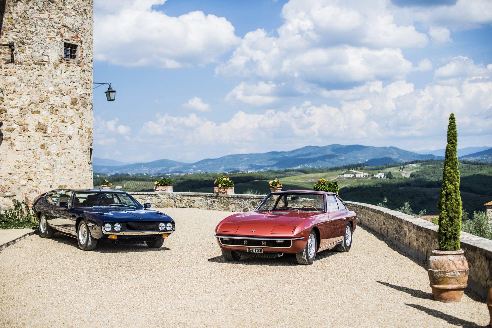 Lamborghini Islero and Espada 50th anniversary (1)