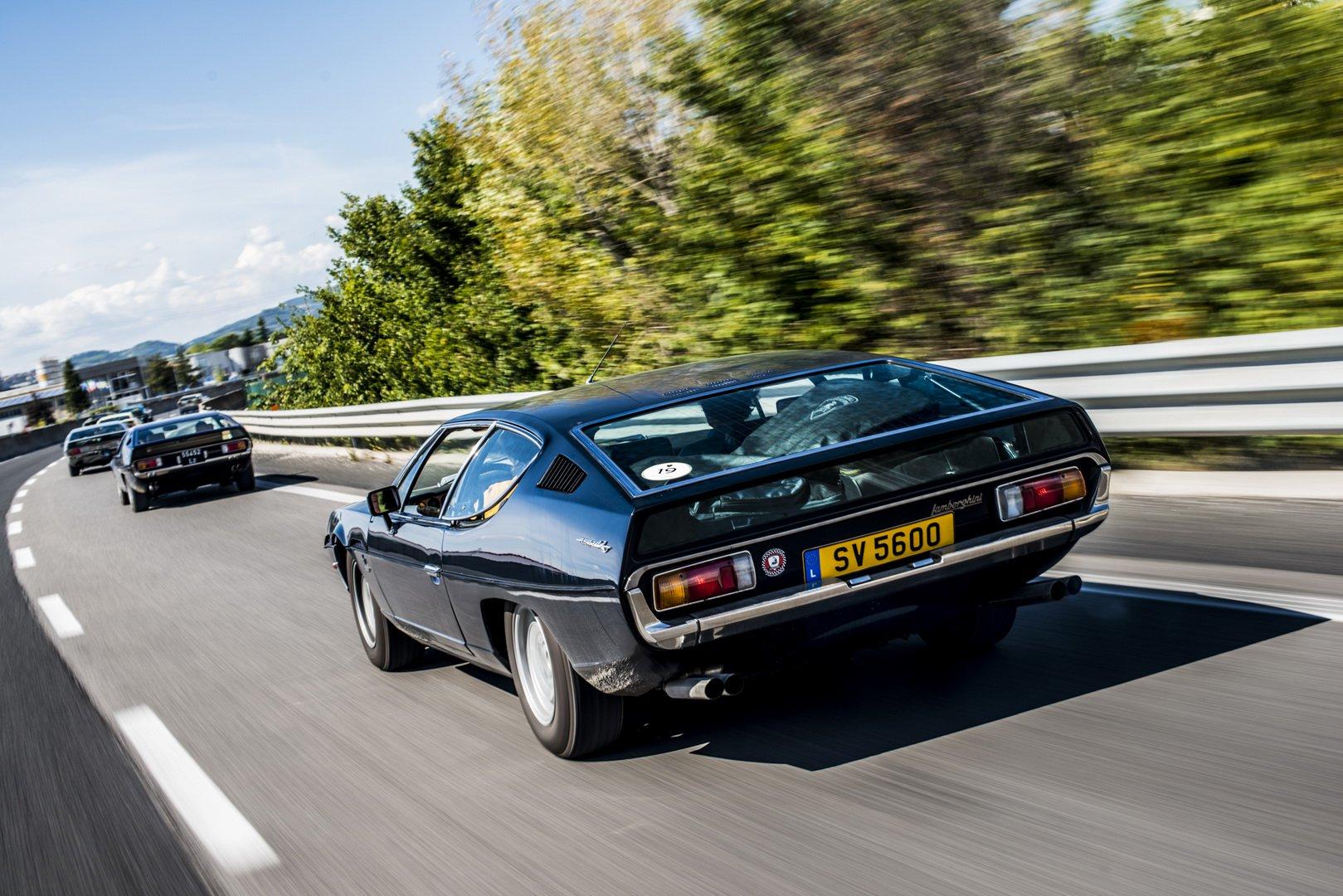 Lamborghini Islero and Espada 50th anniversary (12)