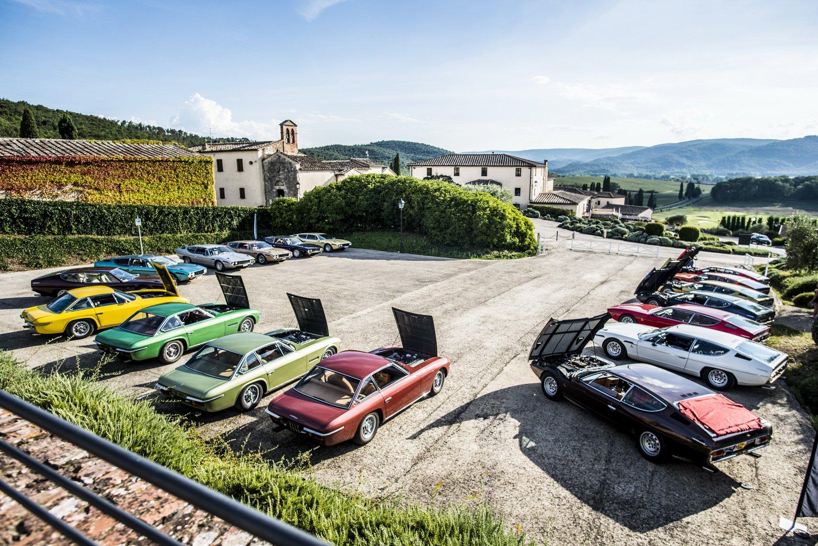 Lamborghini Islero and Espada 50th anniversary (13)