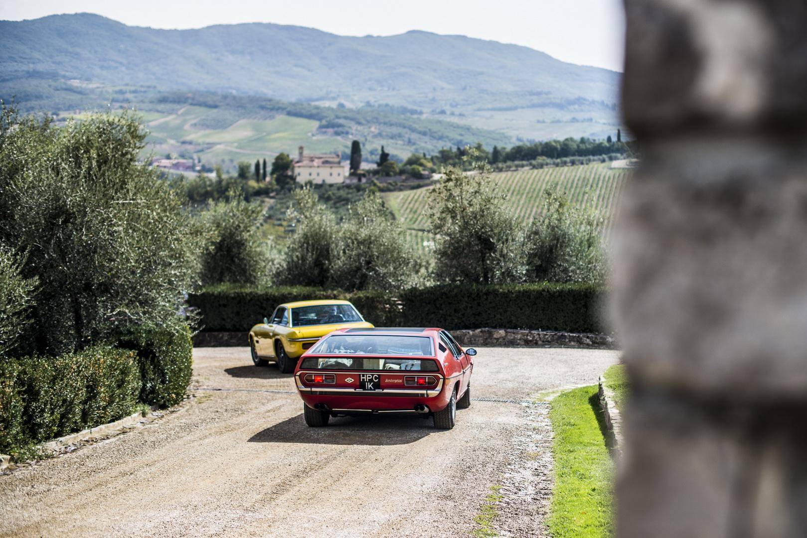 Lamborghini Islero and Espada 50th anniversary (34)