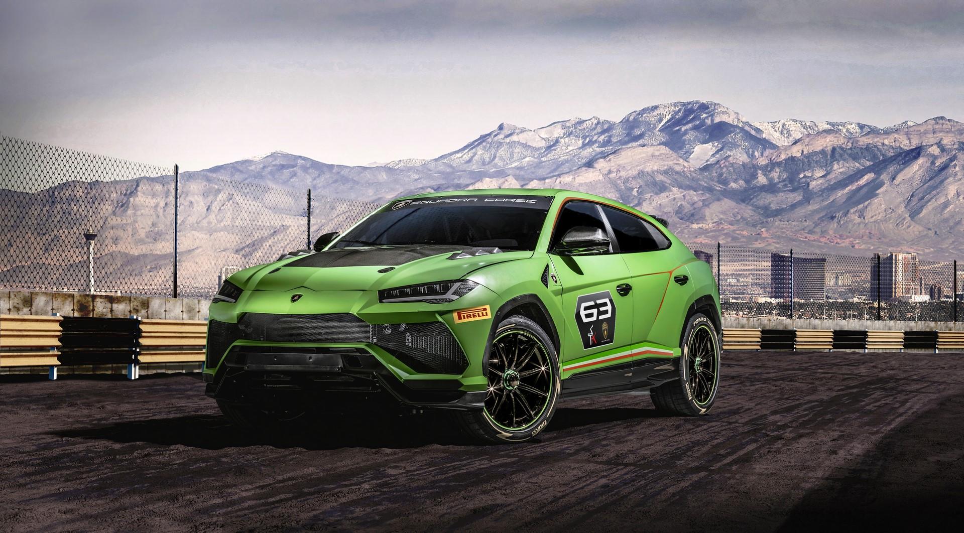 Lamborghini Urus ST-X Concept (1)