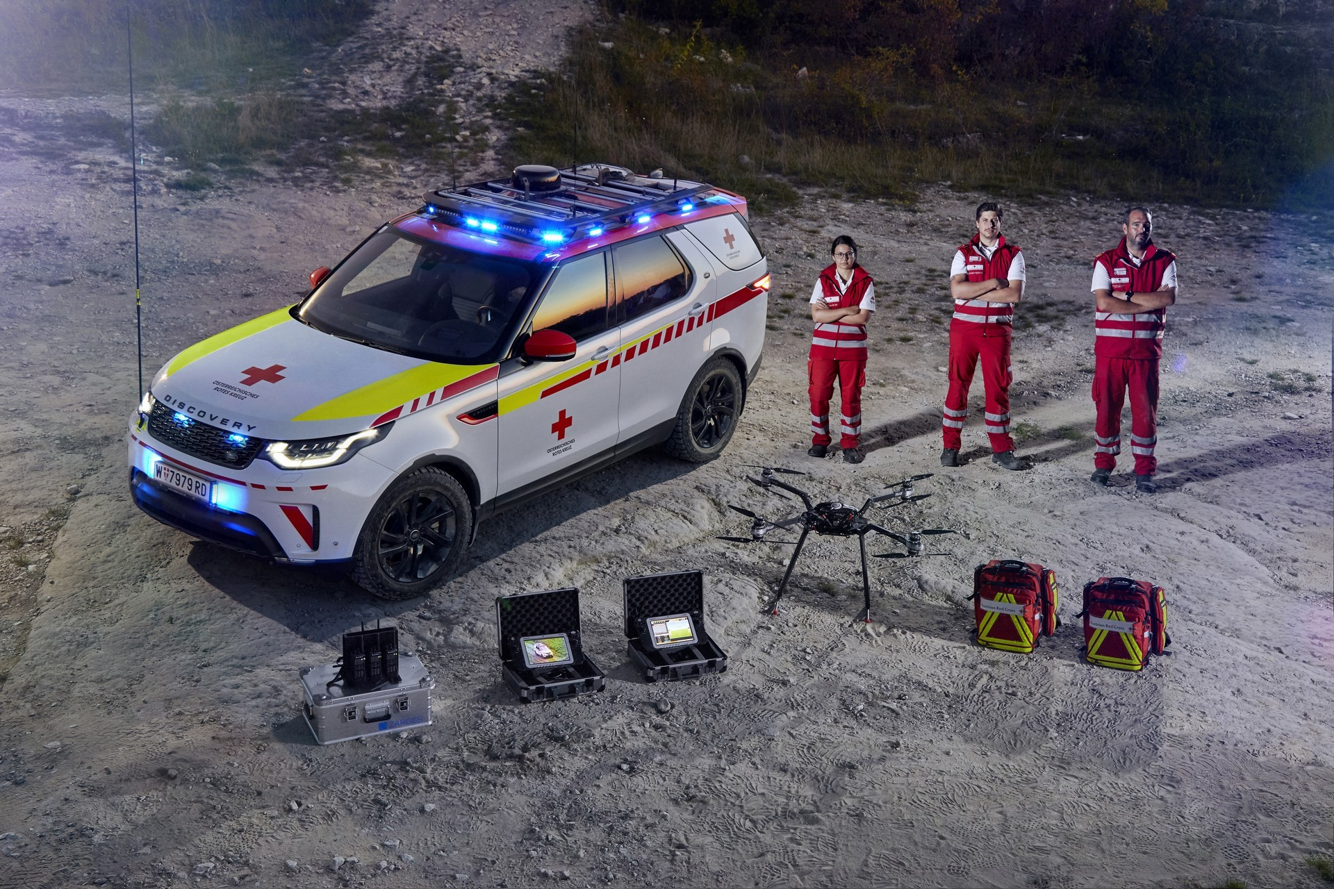 Land Rover Discovery Emergency Vehicle (20)