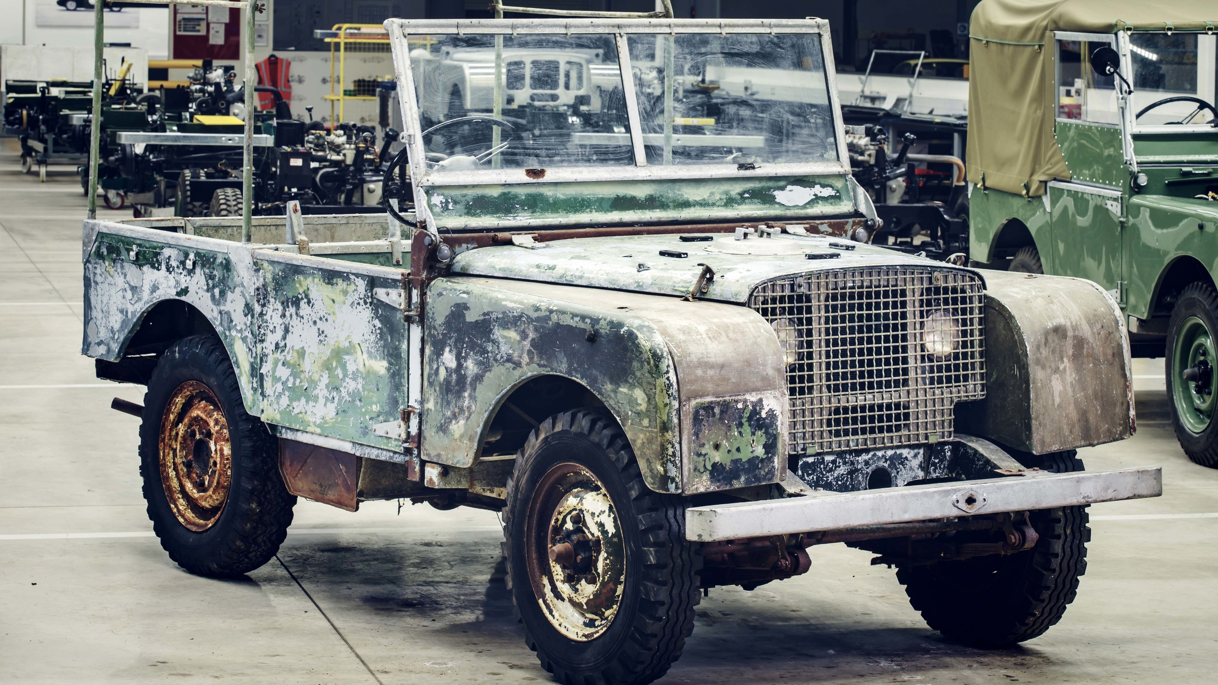 Land Rover Series I restore (1)