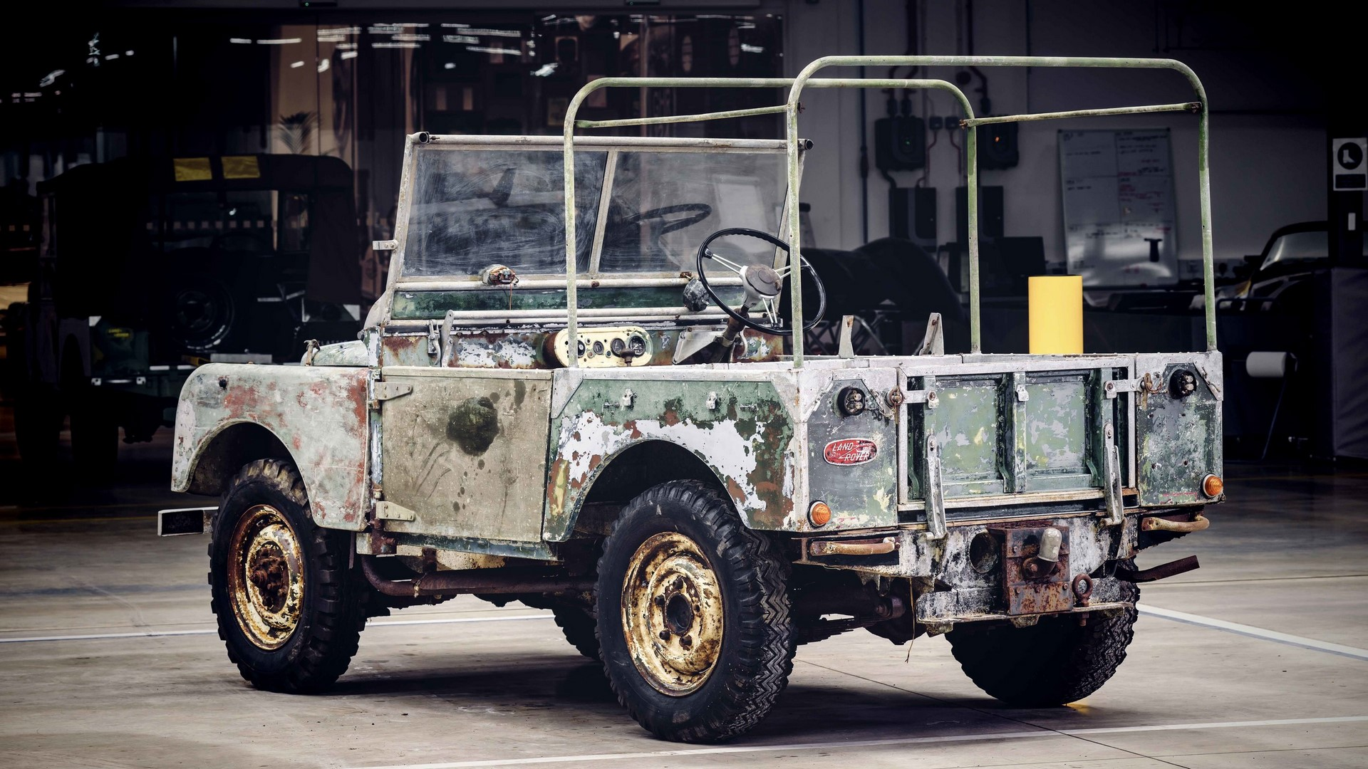 Land Rover Series I restore (2)