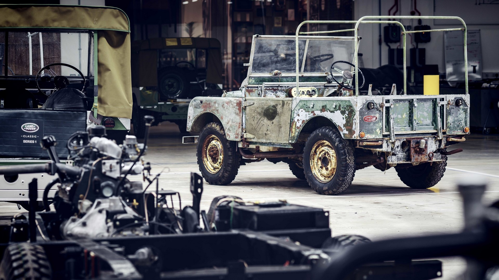 Land Rover Series I restore (3)