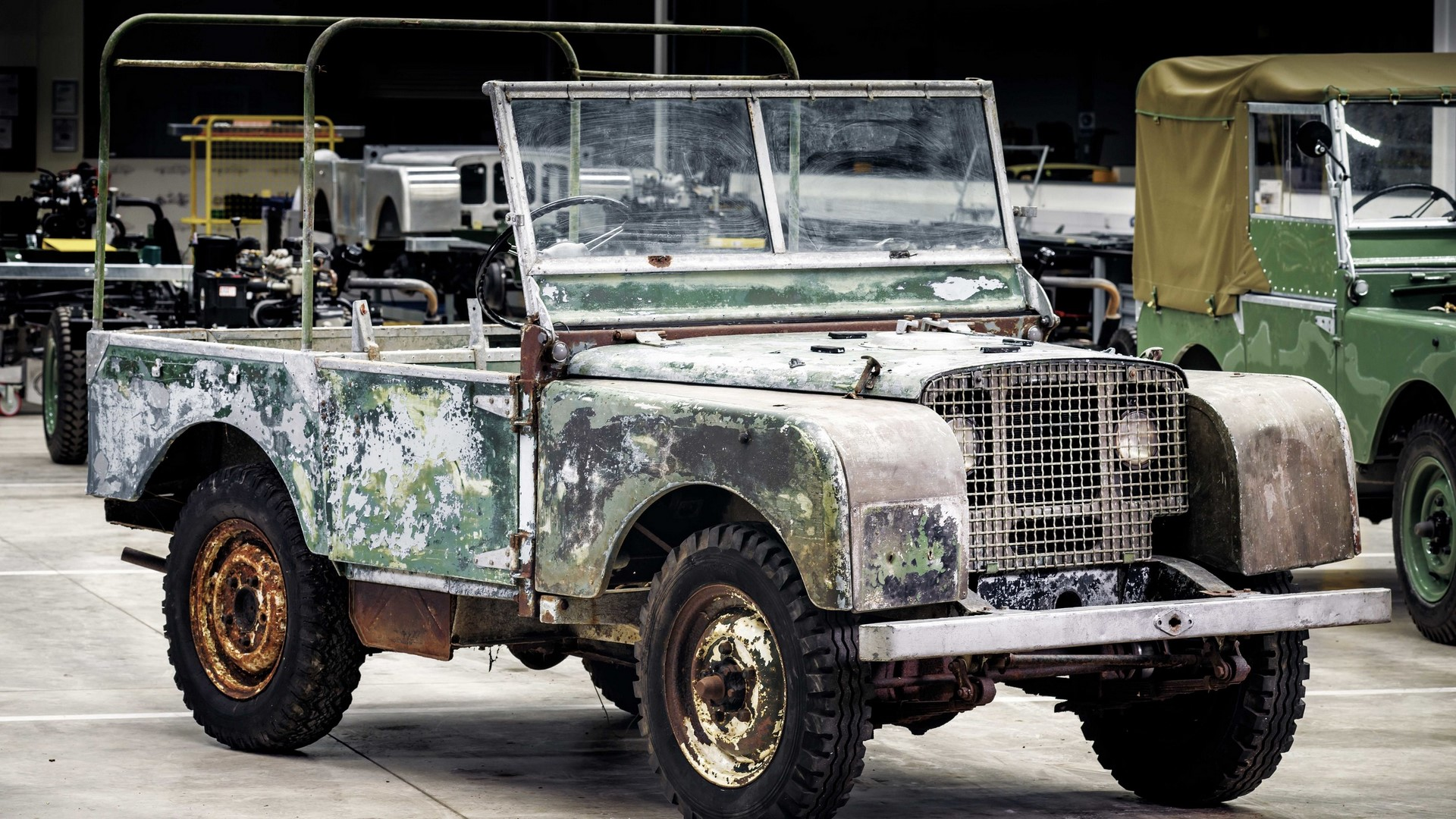 Land Rover Series I restore (4)