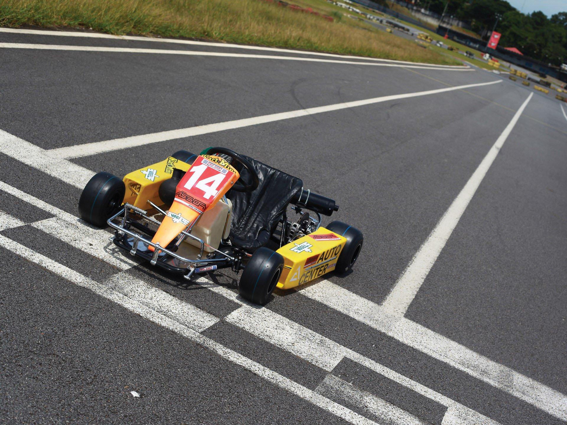 Last Kart Ayrton Senna 1