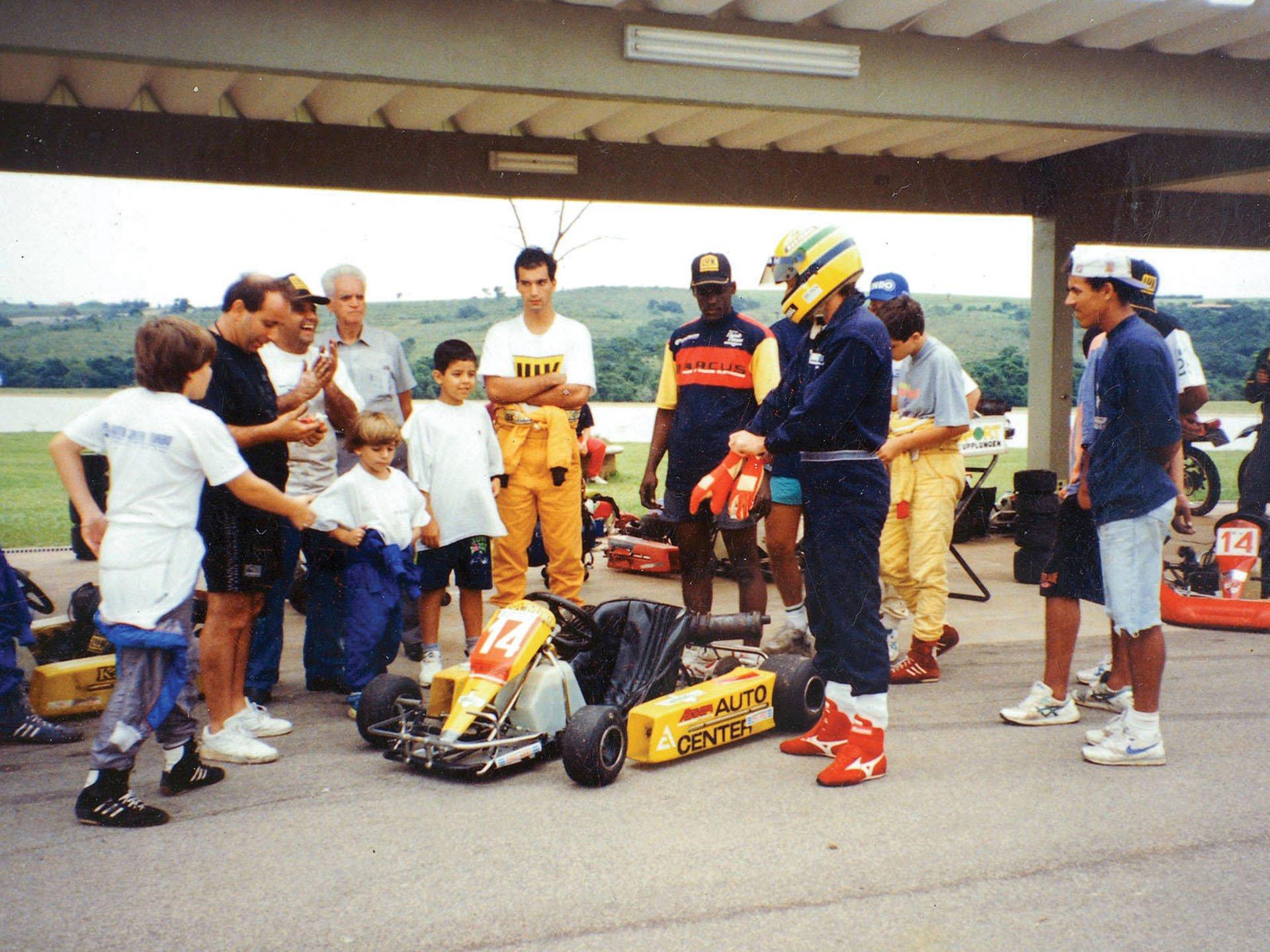 Last Kart Ayrton Senna 10