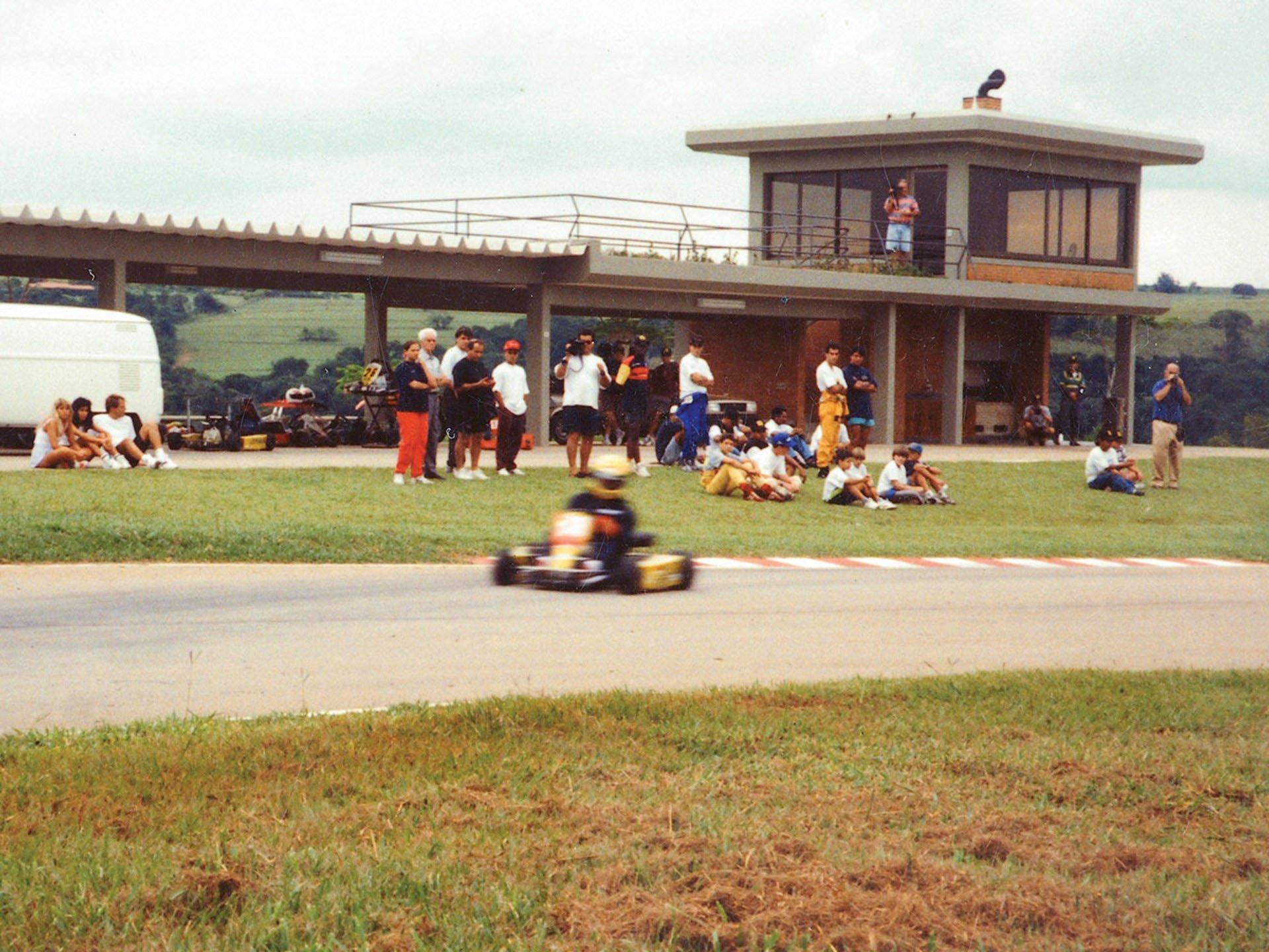 Last Kart Ayrton Senna 11